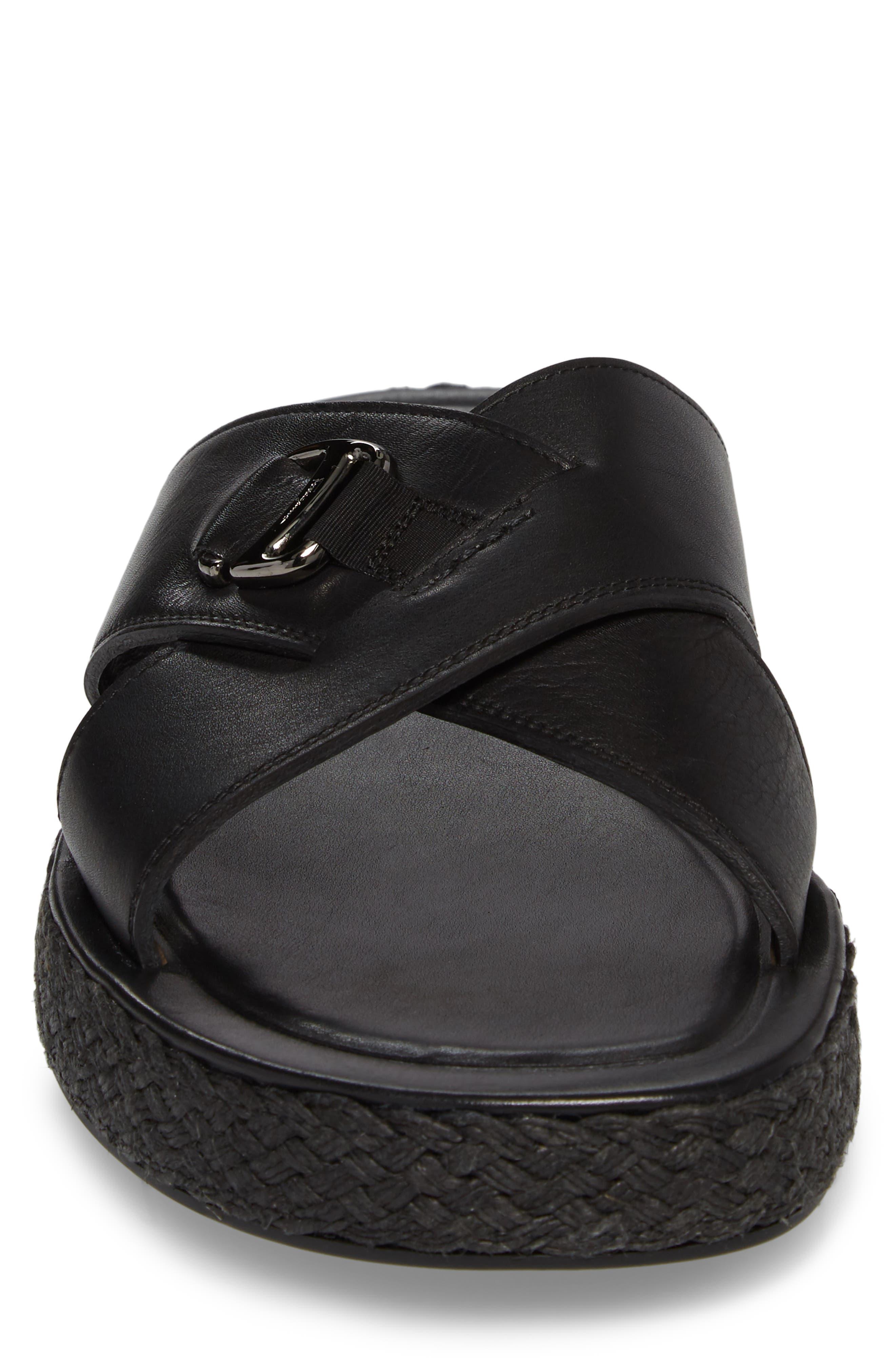 Comodo Slide Sandal,                             Alternate thumbnail 4, color,                             001
