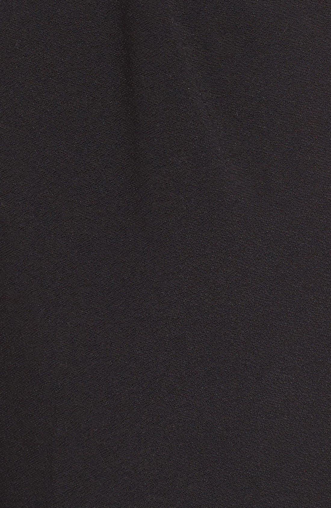 Pleat Front Trousers,                             Alternate thumbnail 11, color,                             BLACK