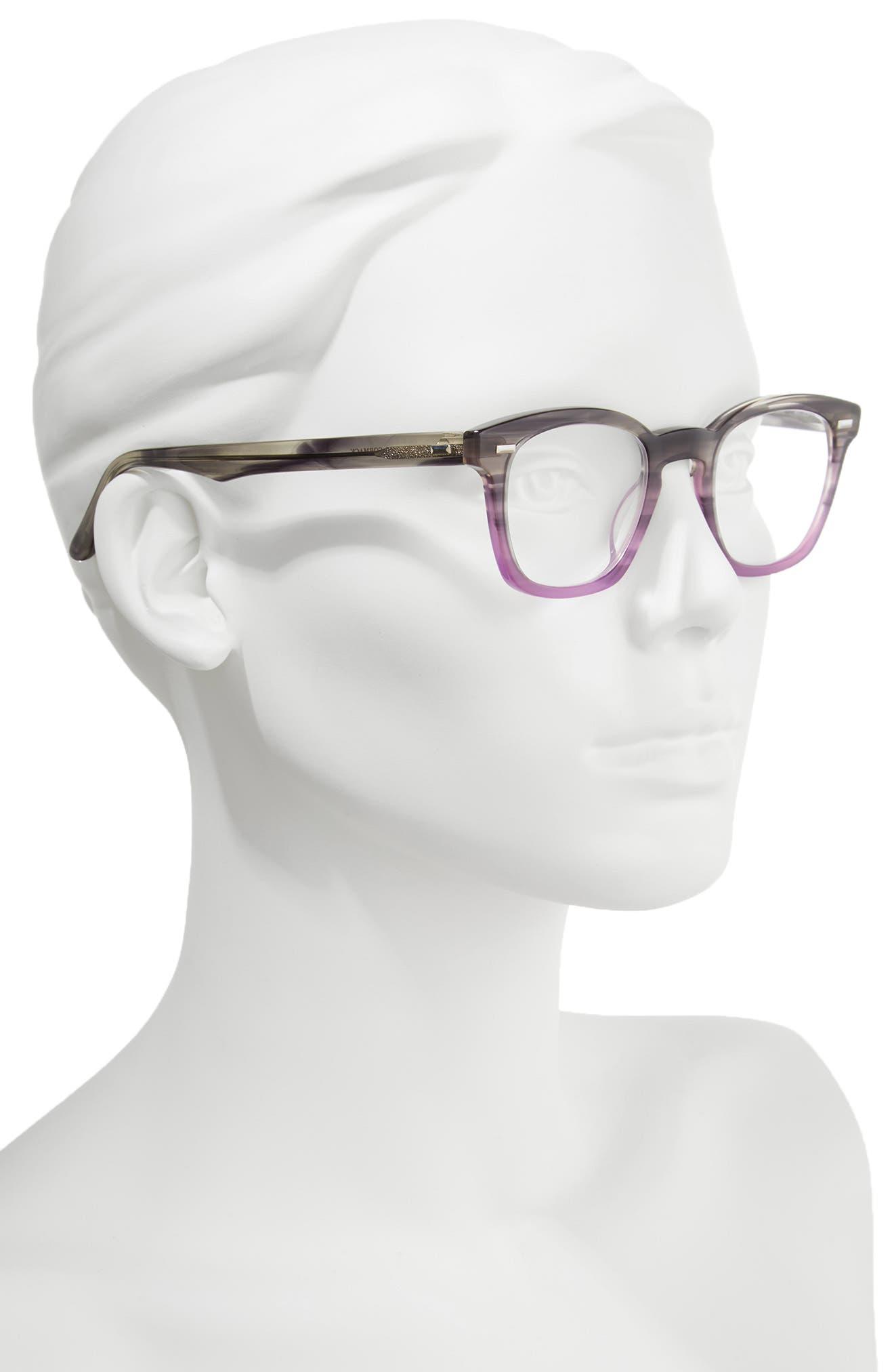 Annie 46mm Reading Glasses,                             Alternate thumbnail 2, color,                             020