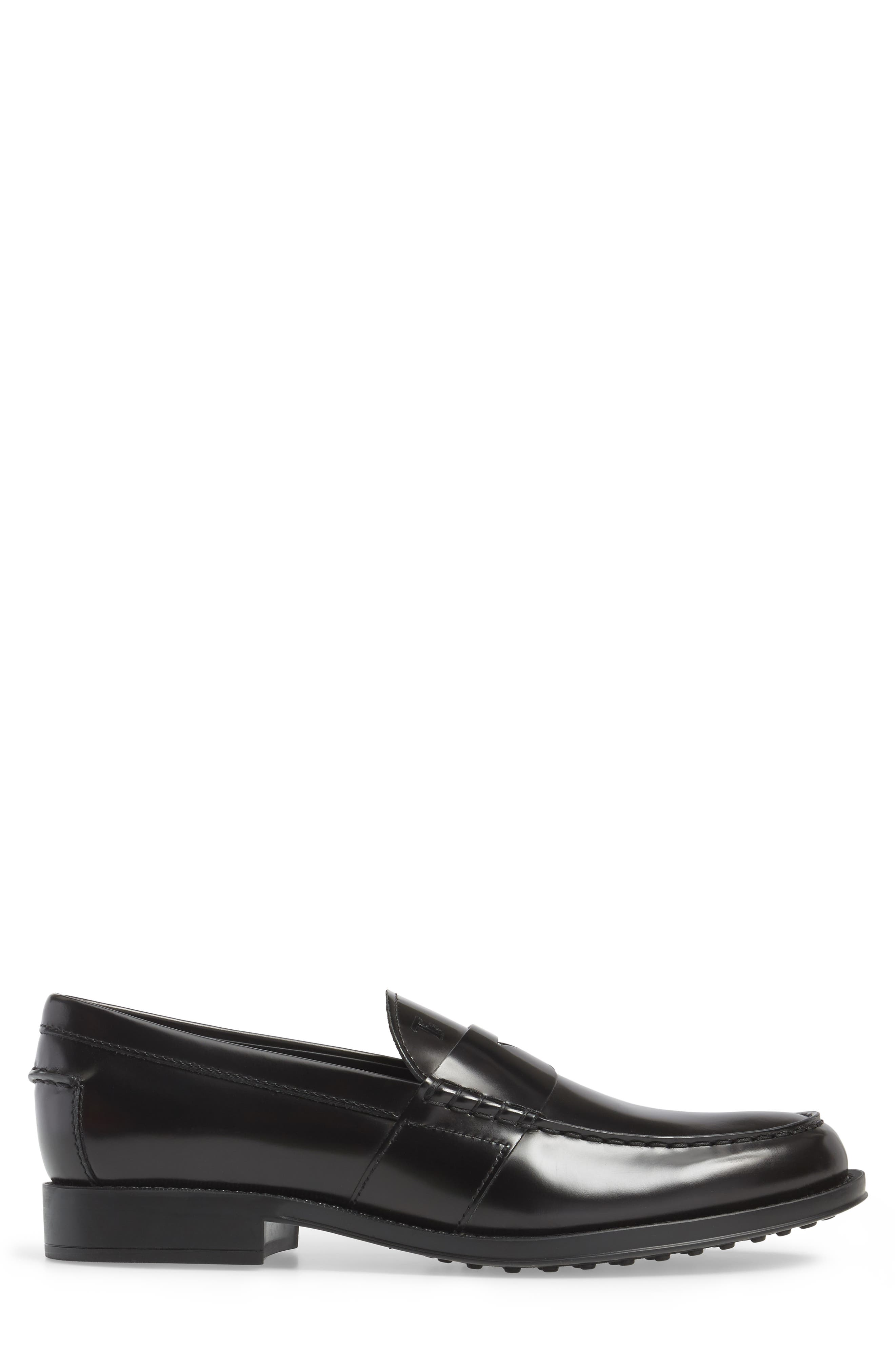 Tods Penny Loafer,                             Alternate thumbnail 3, color,                             001