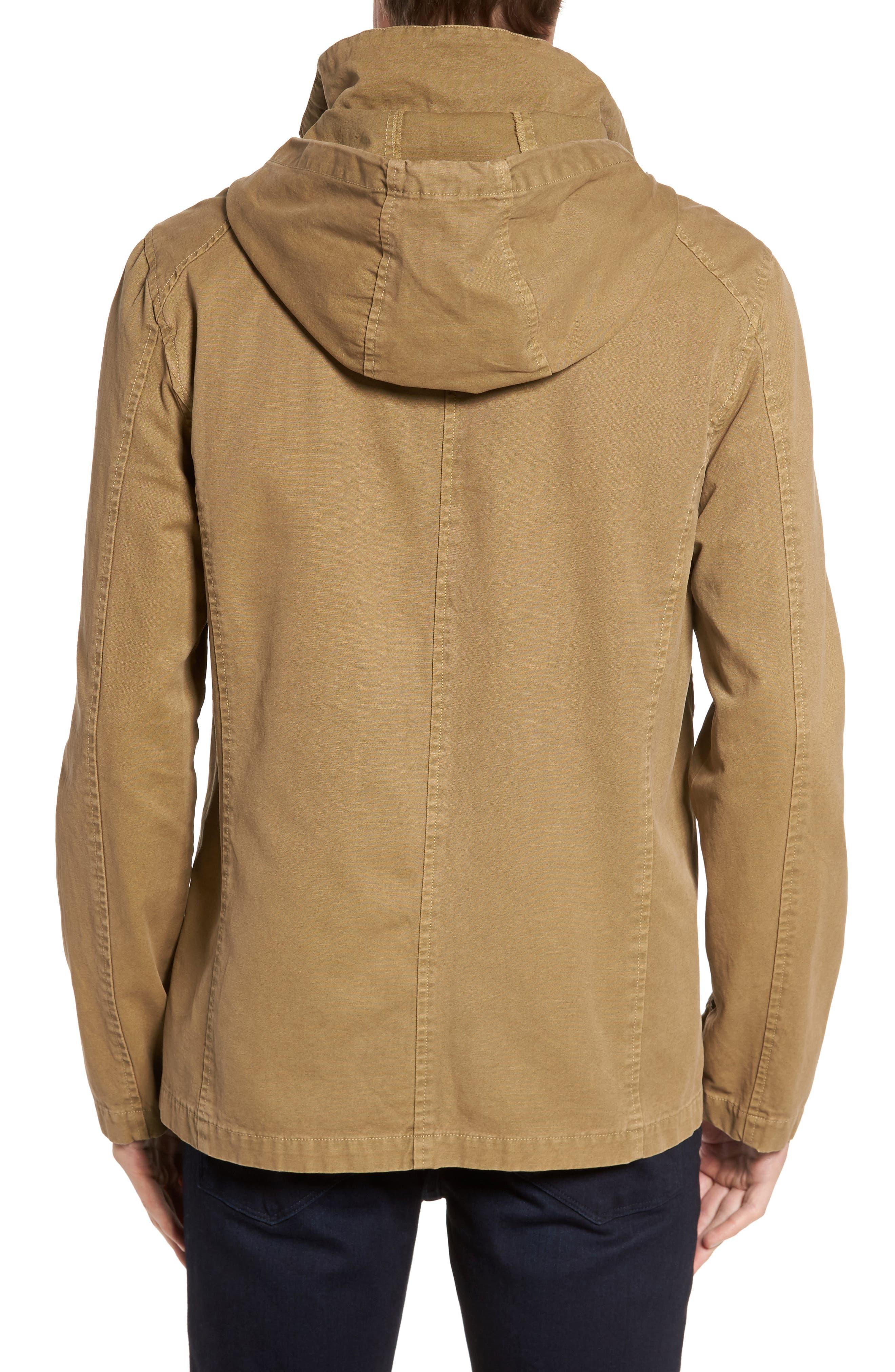 Herman Twill Hooded Jacket,                             Alternate thumbnail 2, color,                             250