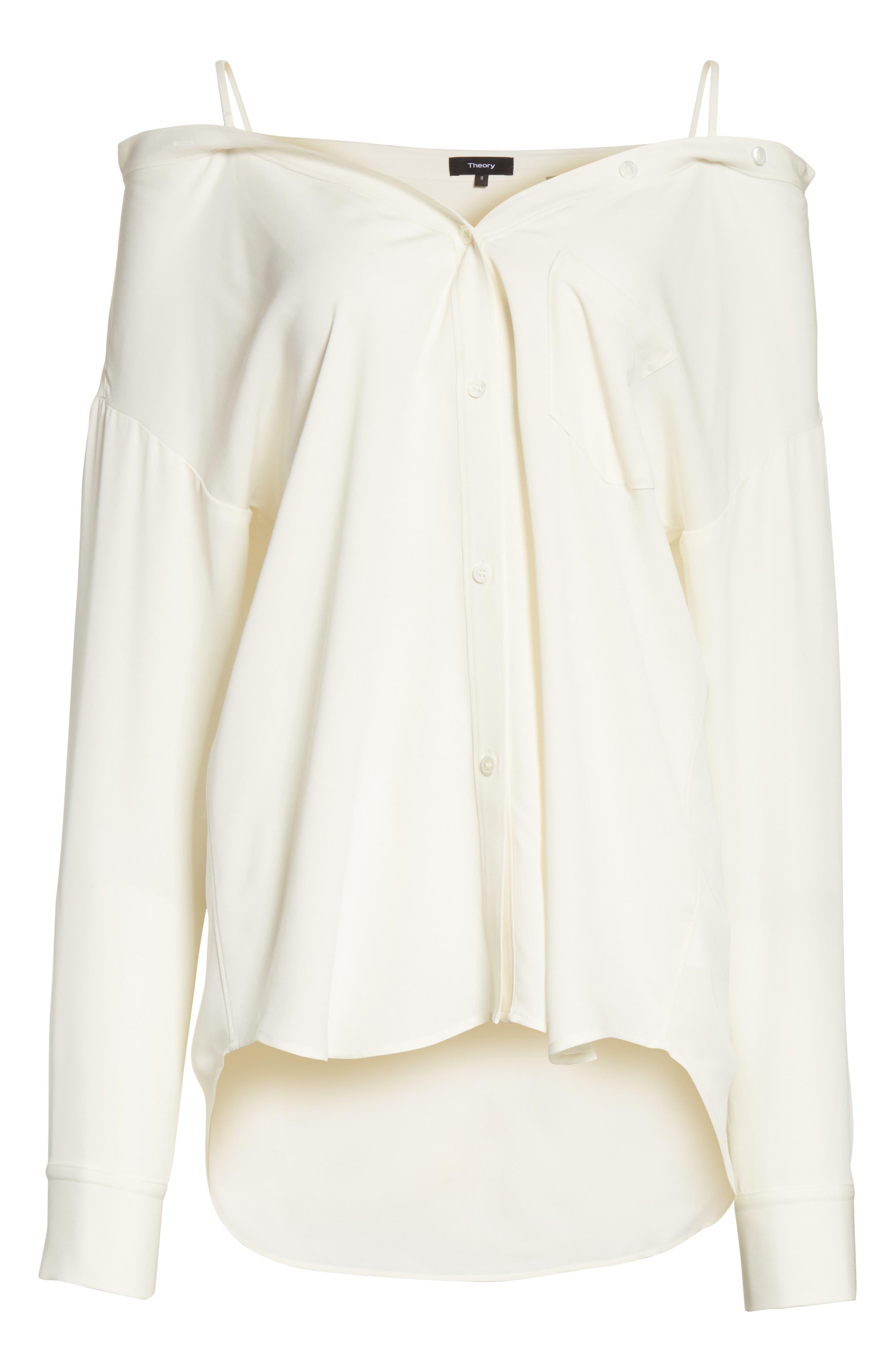 Tamalee Silk Shirt,                             Alternate thumbnail 24, color,