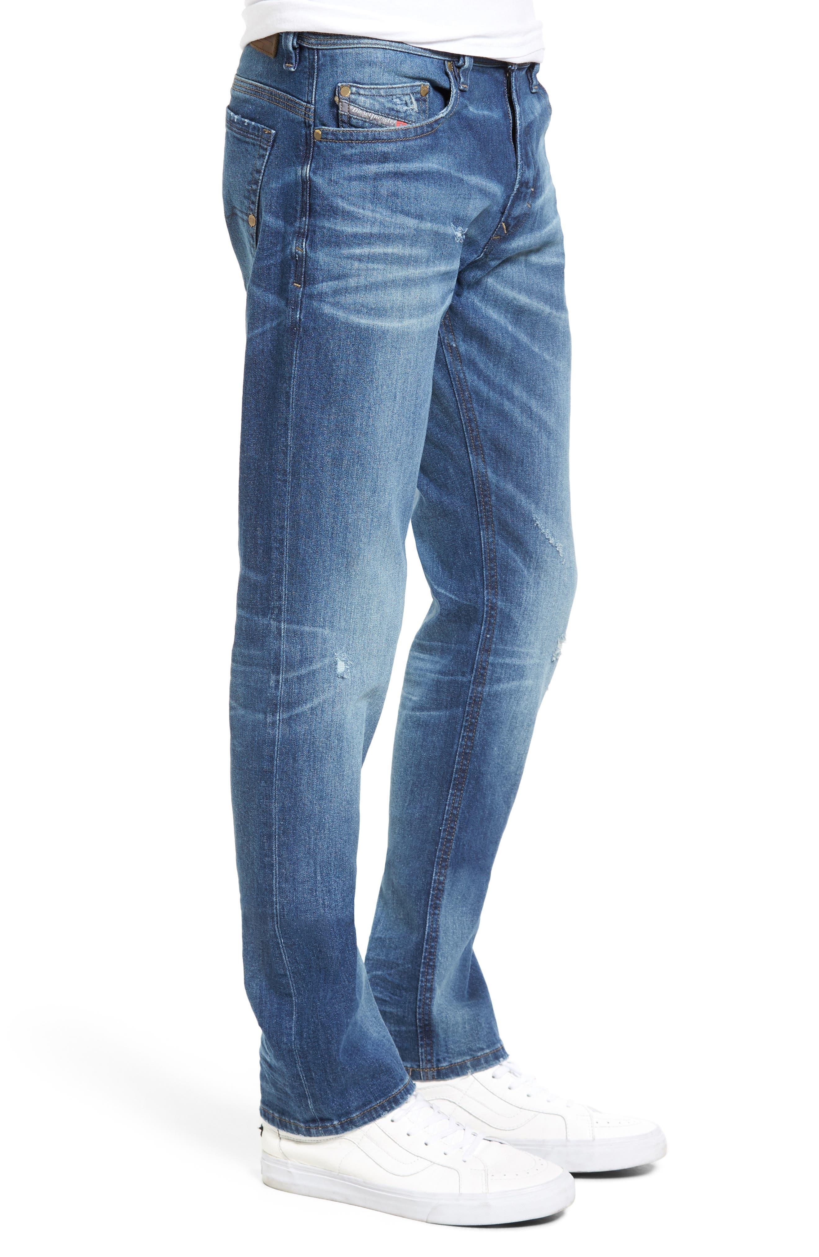 Thavar Skinny Fit Jeans,                             Alternate thumbnail 3, color,                             400