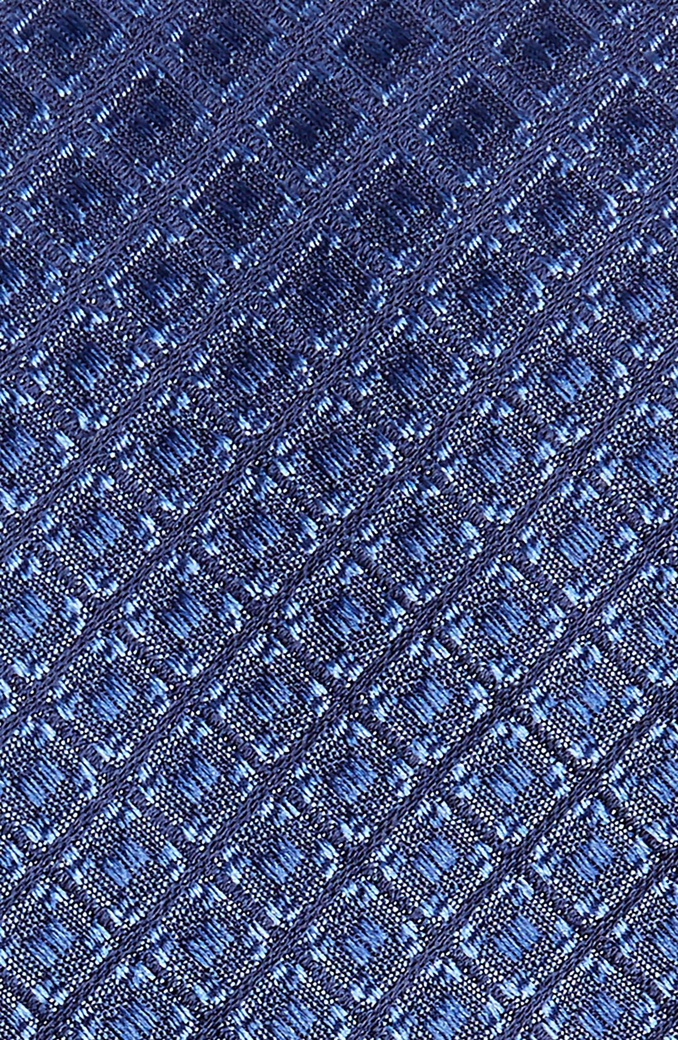 Denberg Check Silk Tie,                             Alternate thumbnail 5, color,