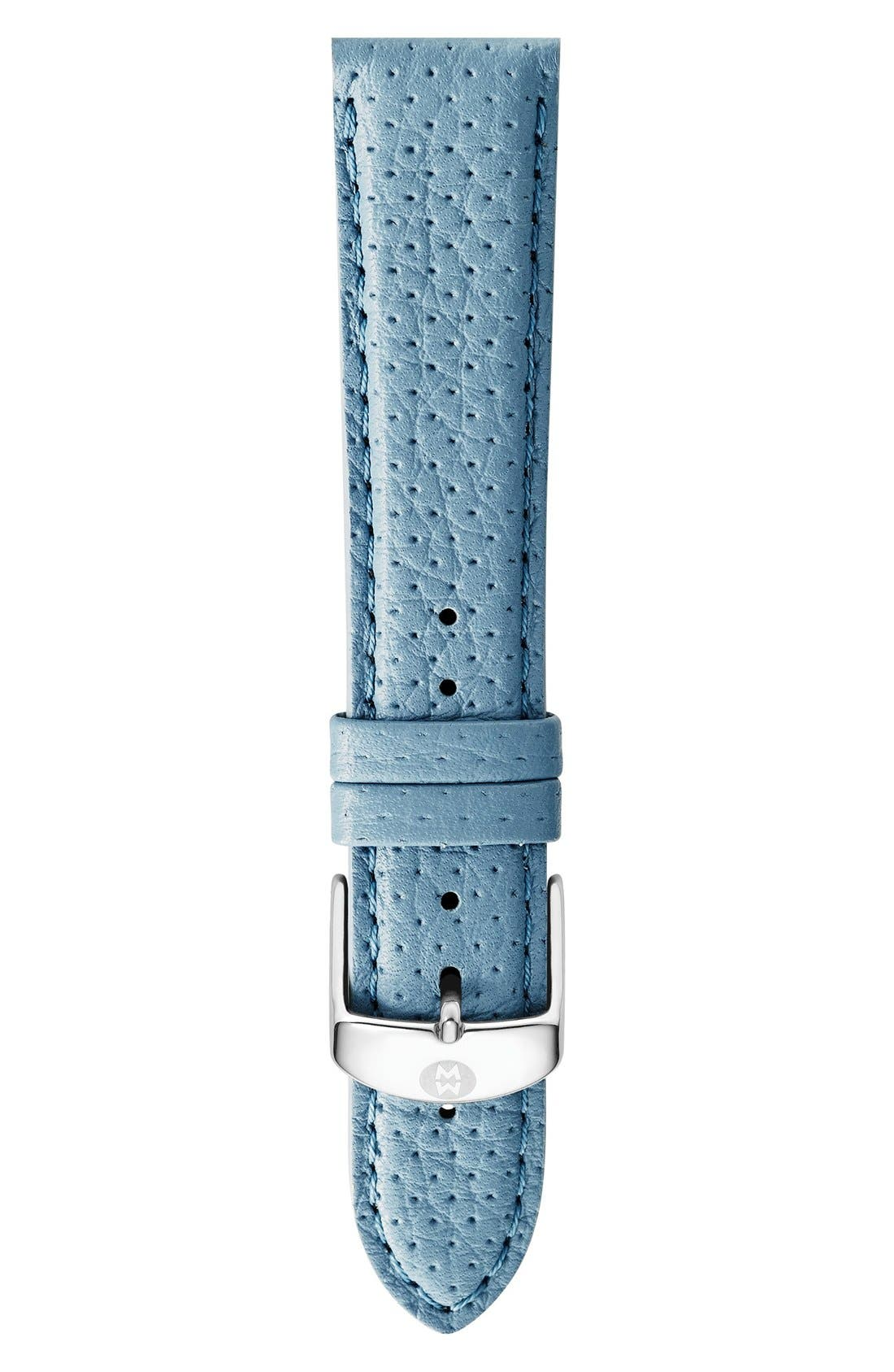 16mm Leather Watch Strap,                             Main thumbnail 11, color,