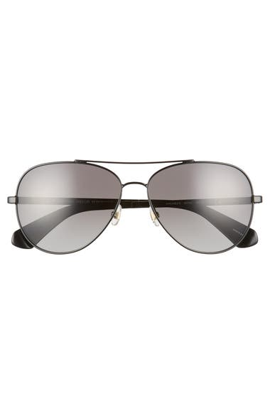 943e4933f9 kate spade new york avaline 2 s 58mm polarized aviator sunglasses ...