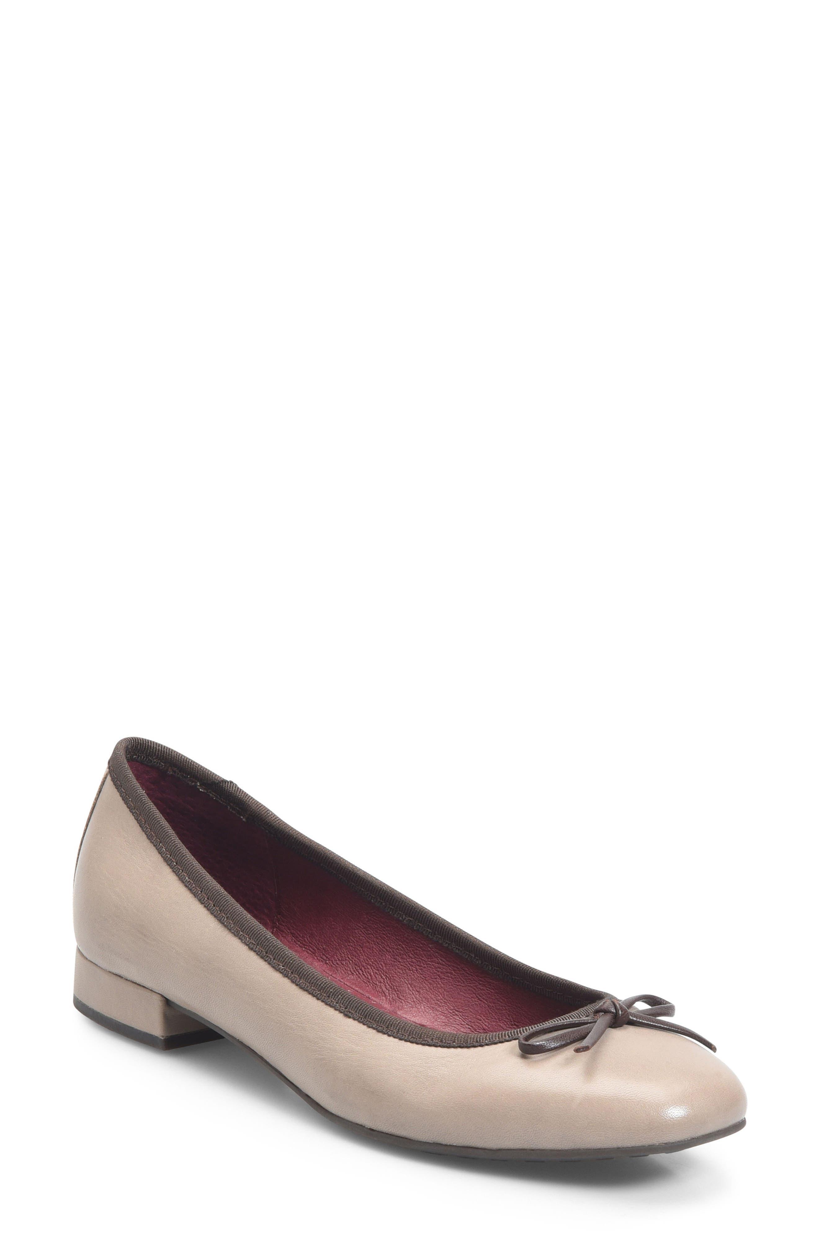 Ono Hallada Ballet Flat, Grey