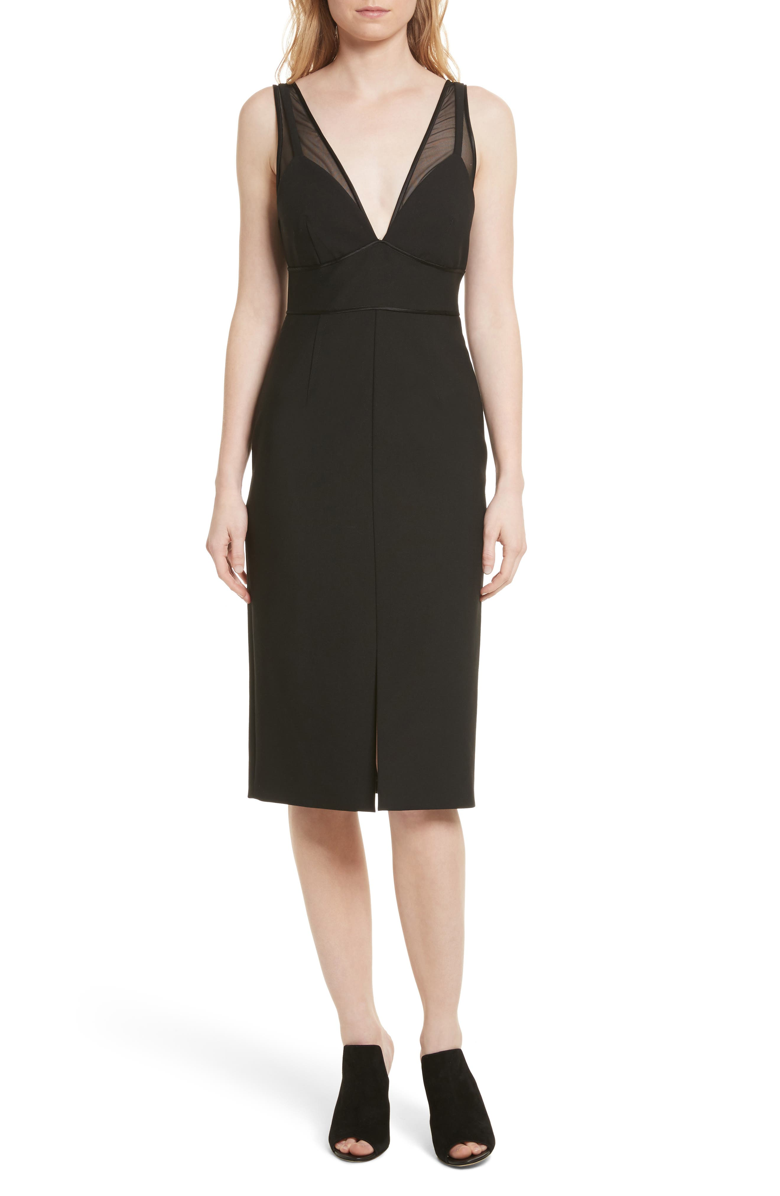 Lida Sheath Dress,                         Main,                         color, 001