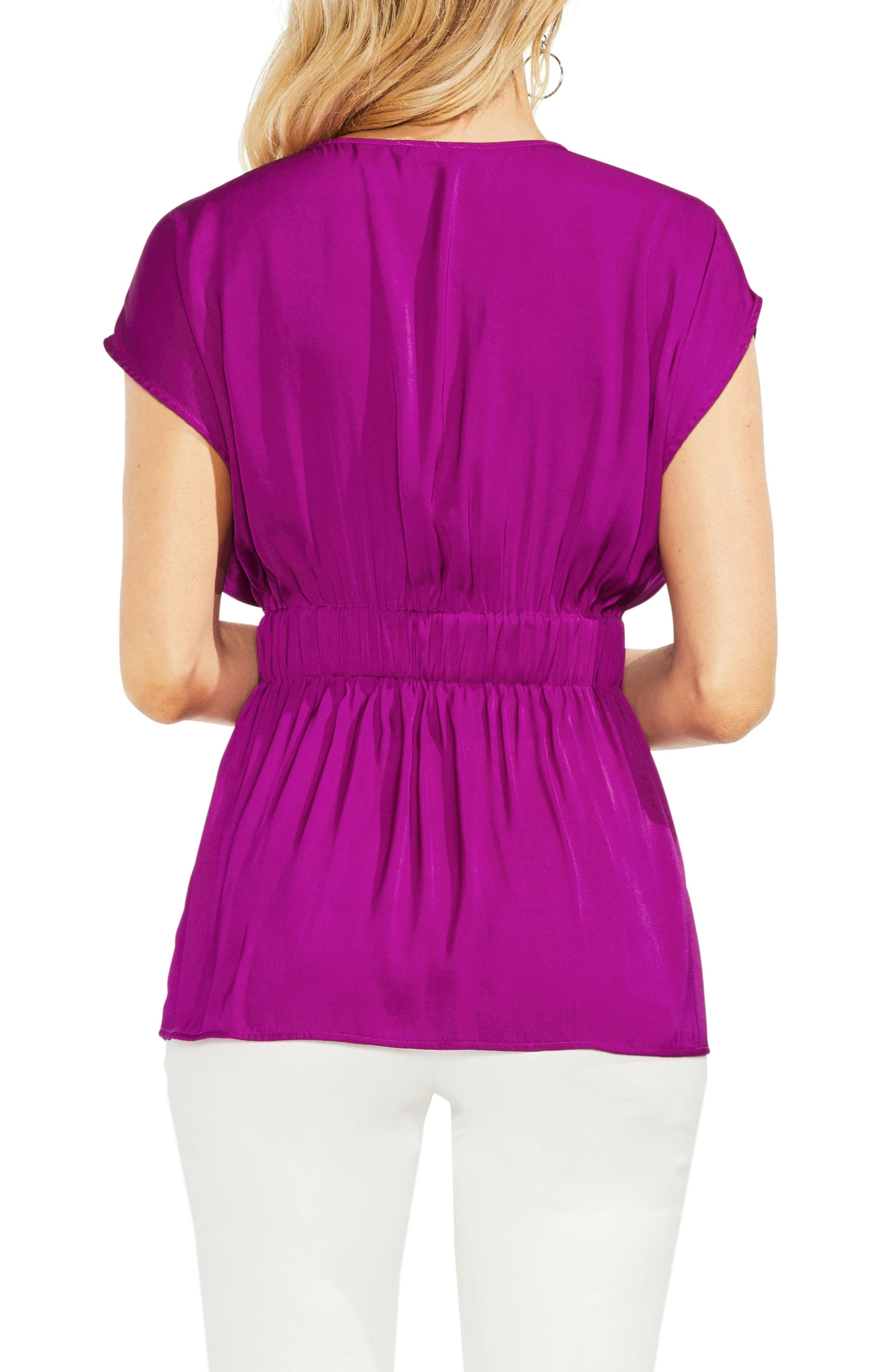 Cinched Waist Top,                             Alternate thumbnail 5, color,
