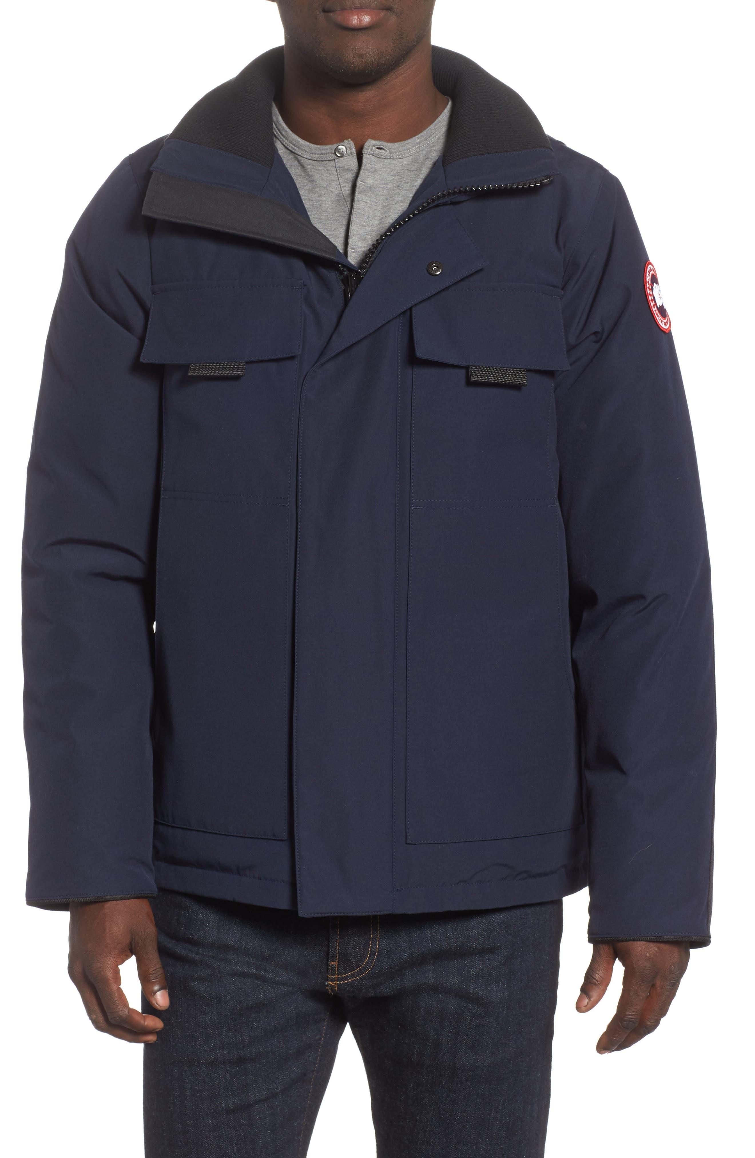 Canada Goose Forester Slim Fit Jacket, Blue