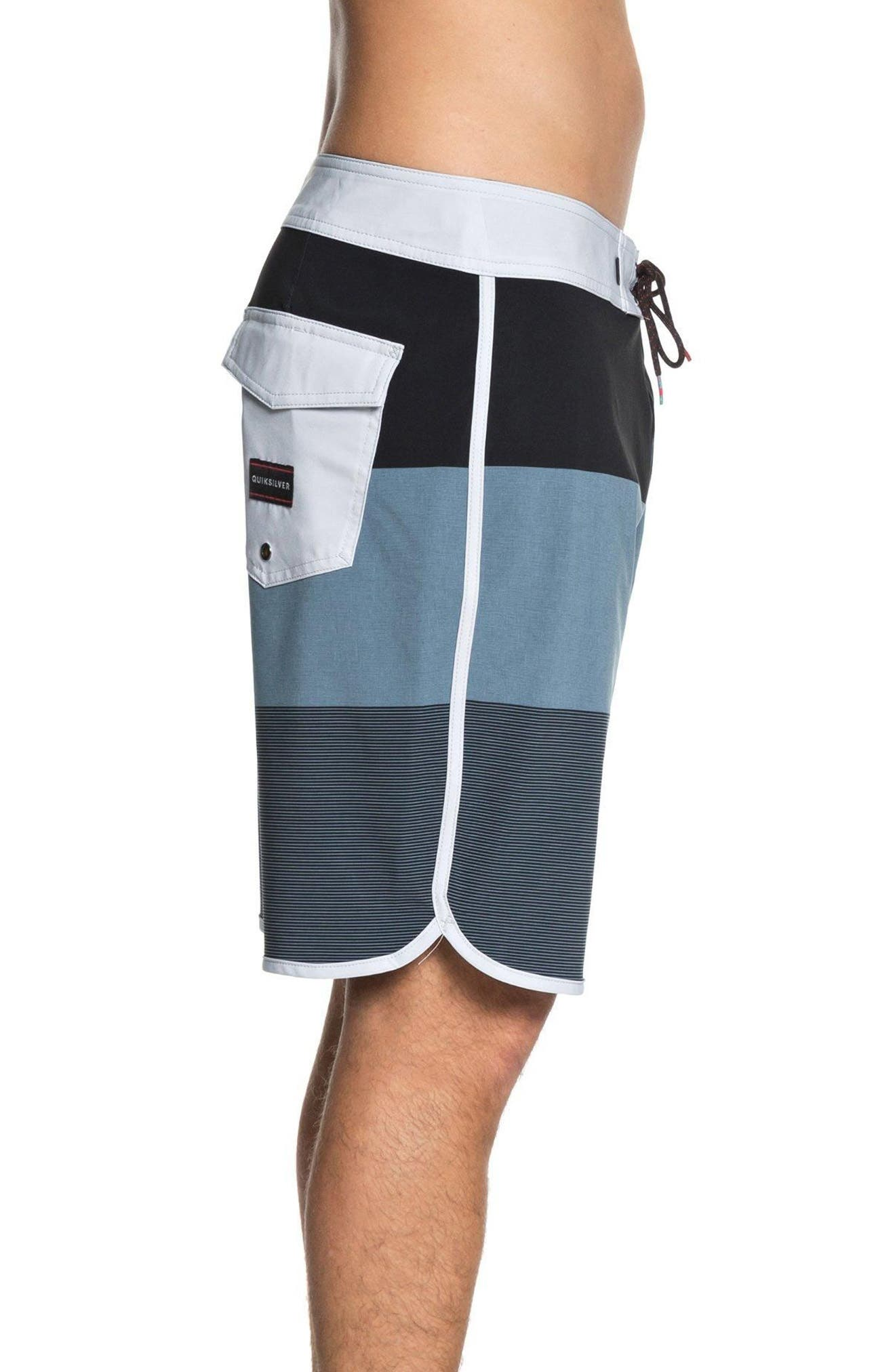 Highline Tijuana Scallop Board Shorts,                             Alternate thumbnail 3, color,                             440