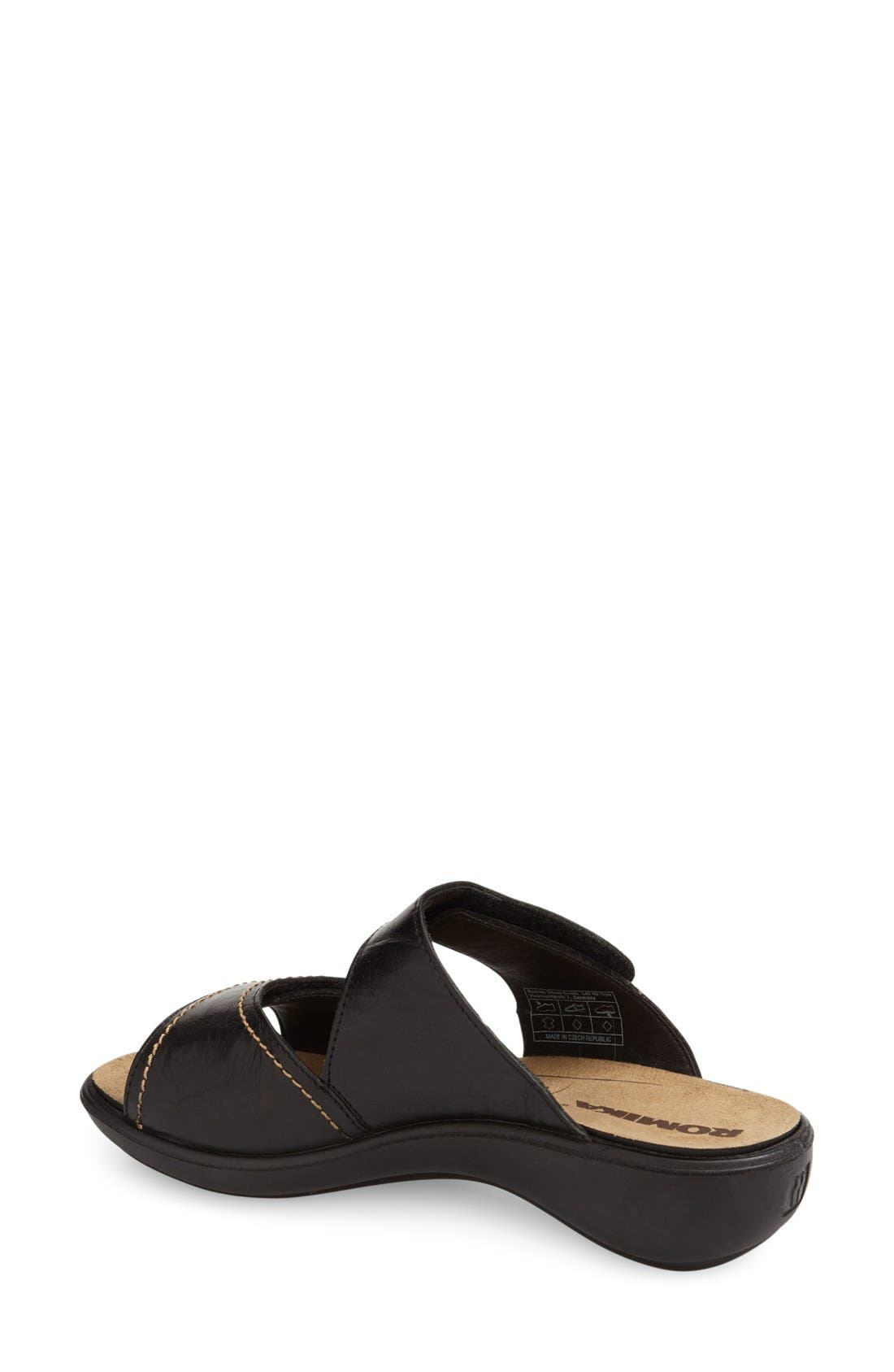 'Ibiza 64' Slide Sandal,                             Alternate thumbnail 2, color,                             004