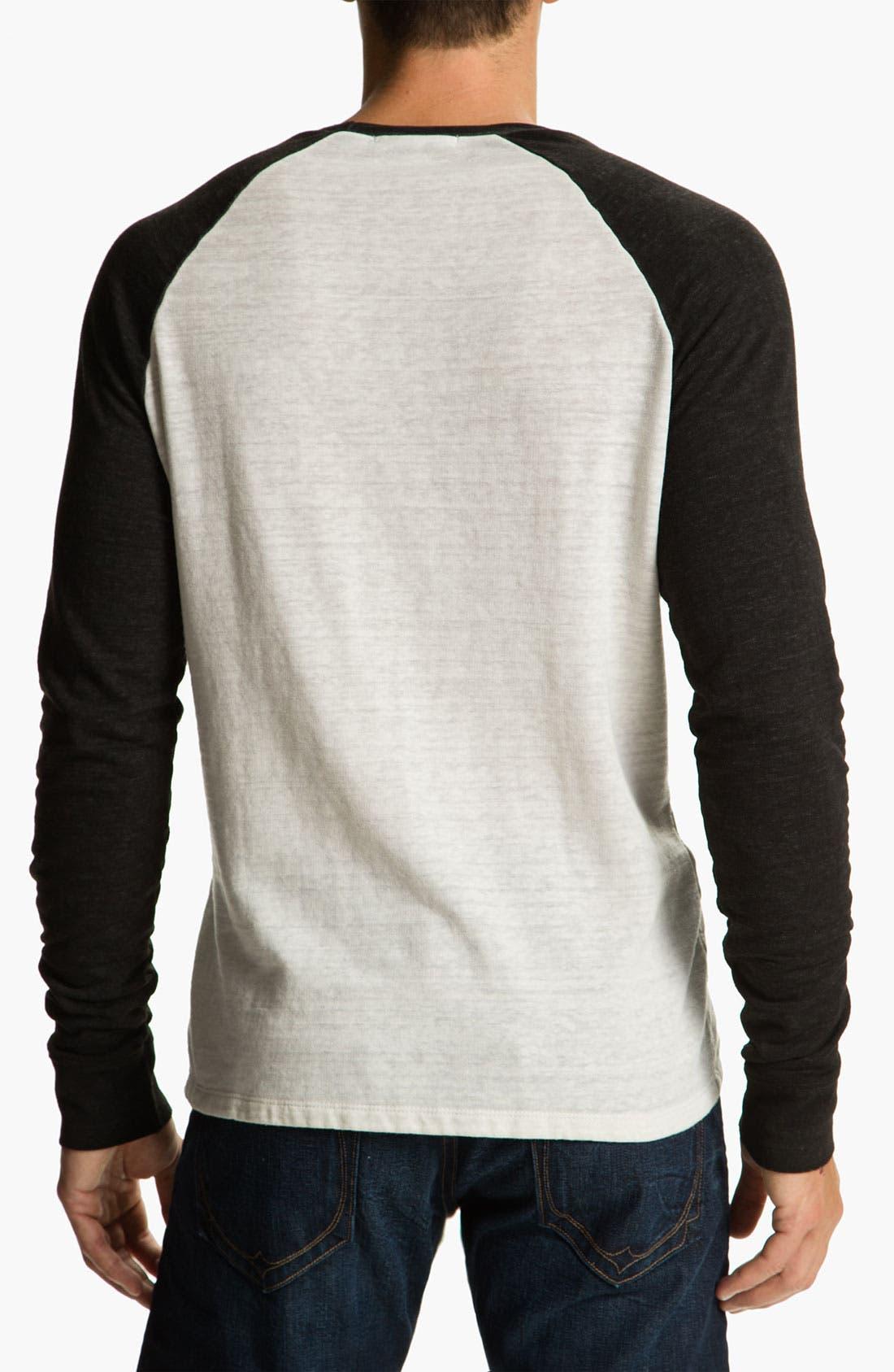 Washed Raglan Sleeve Sweatshirt,                             Alternate thumbnail 20, color,