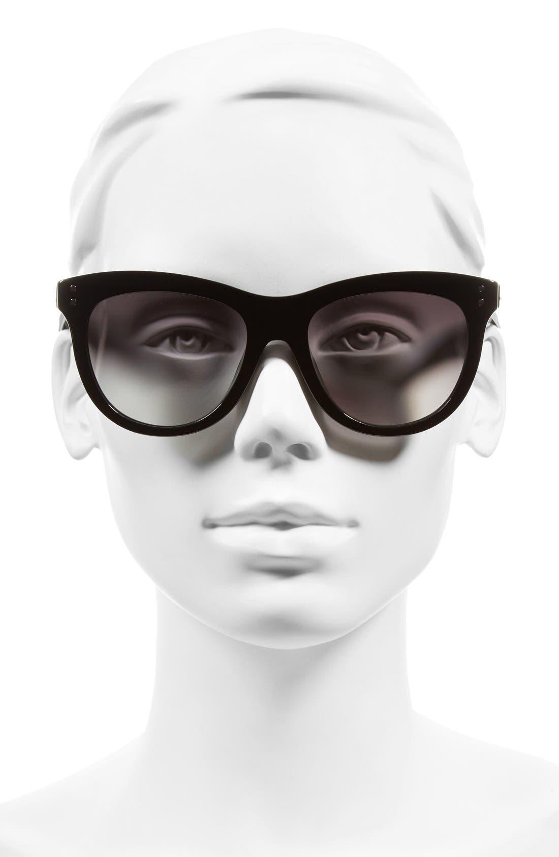 MARC JACOBS,                             54mm Sunglasses,                             Alternate thumbnail 2, color,                             001