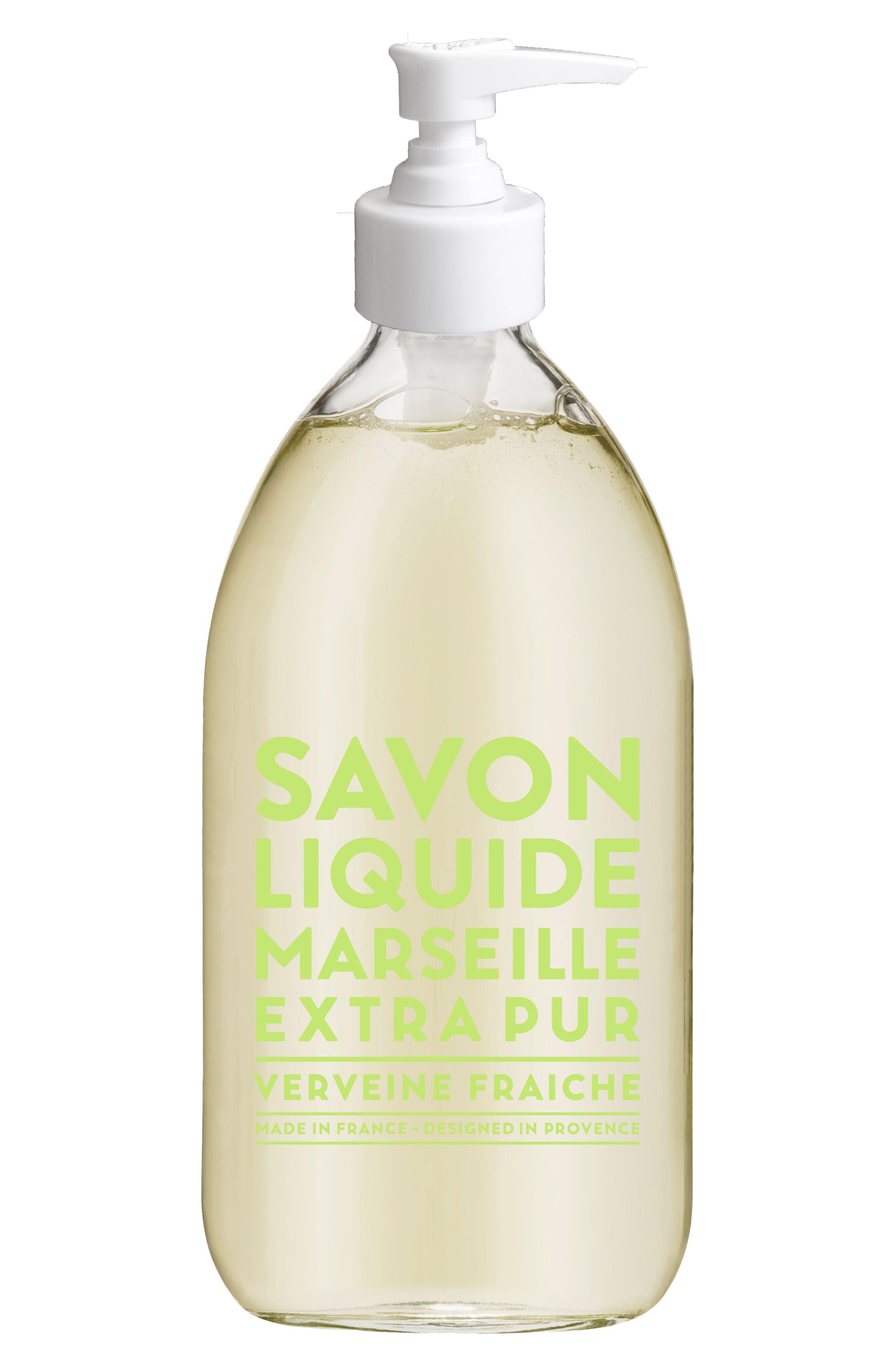 Fresh Verbena Liquid Marseille Soap,                             Main thumbnail 1, color,                             NO COLOR
