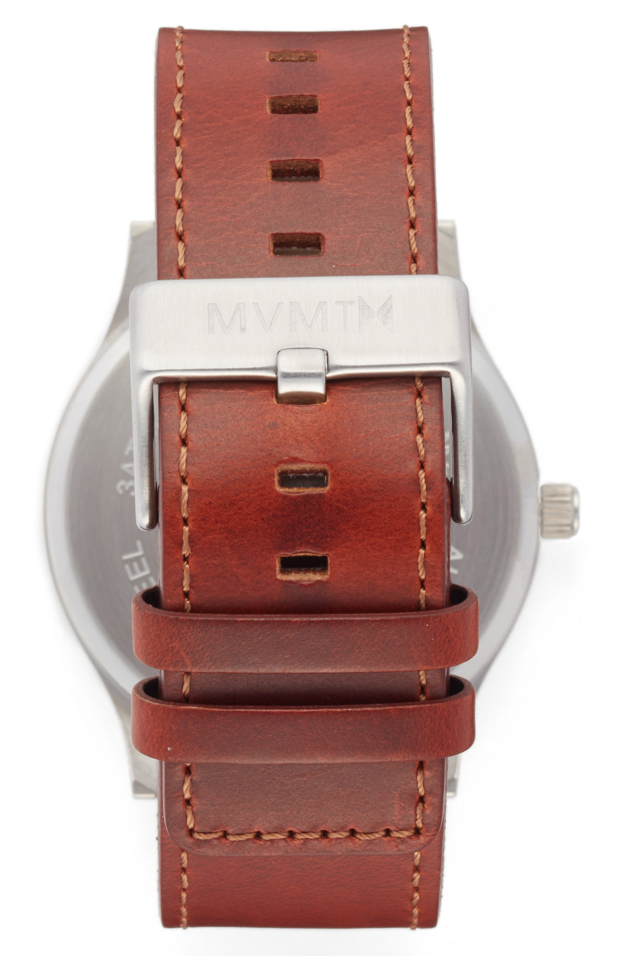 The Classic Leather Strap Watch, 45mm,                             Alternate thumbnail 2, color,                             200