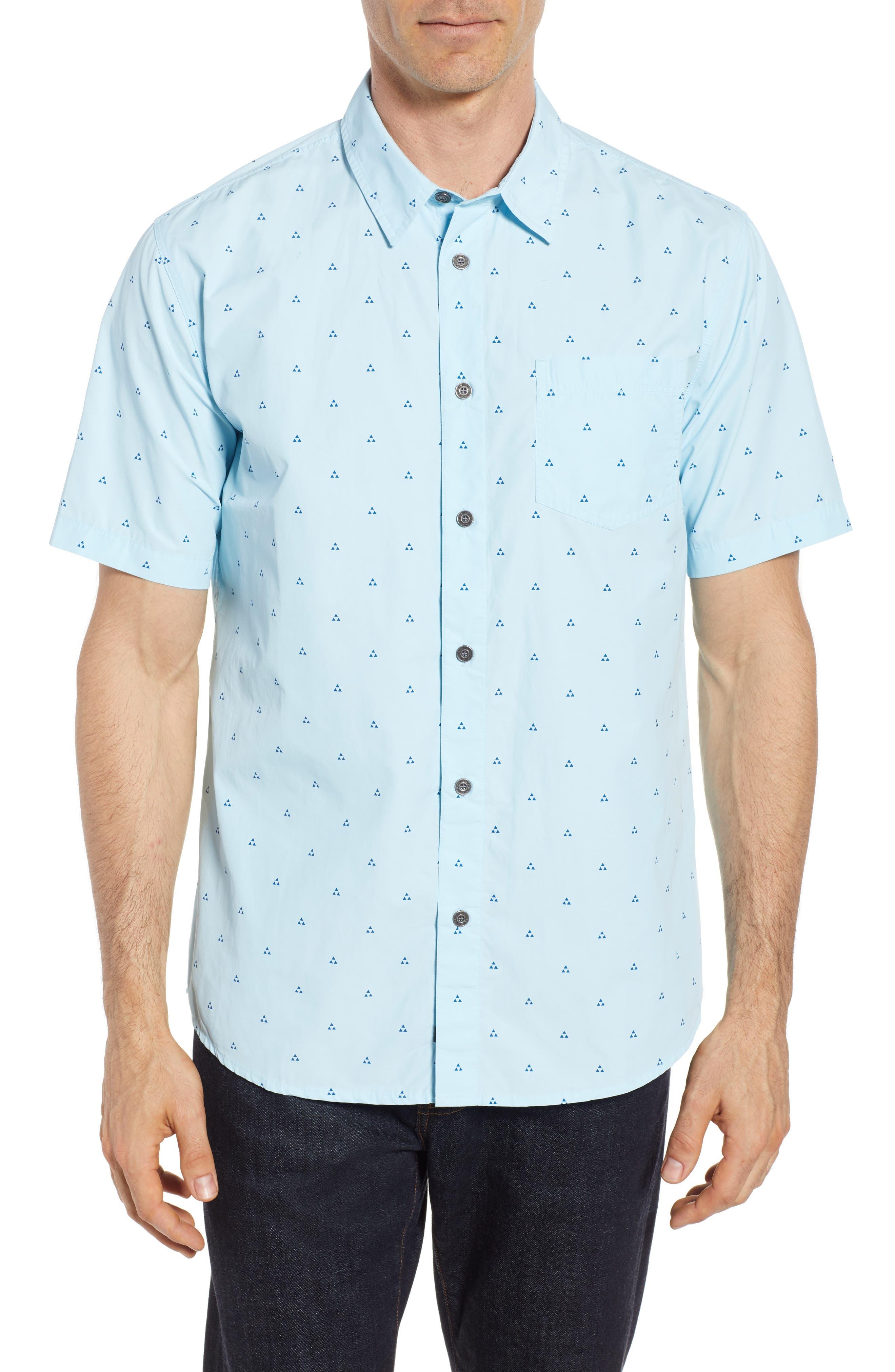Trailblazed Regular Fit Performance Sport Shirt,                             Main thumbnail 1, color,                             CRYSTAL BLUE