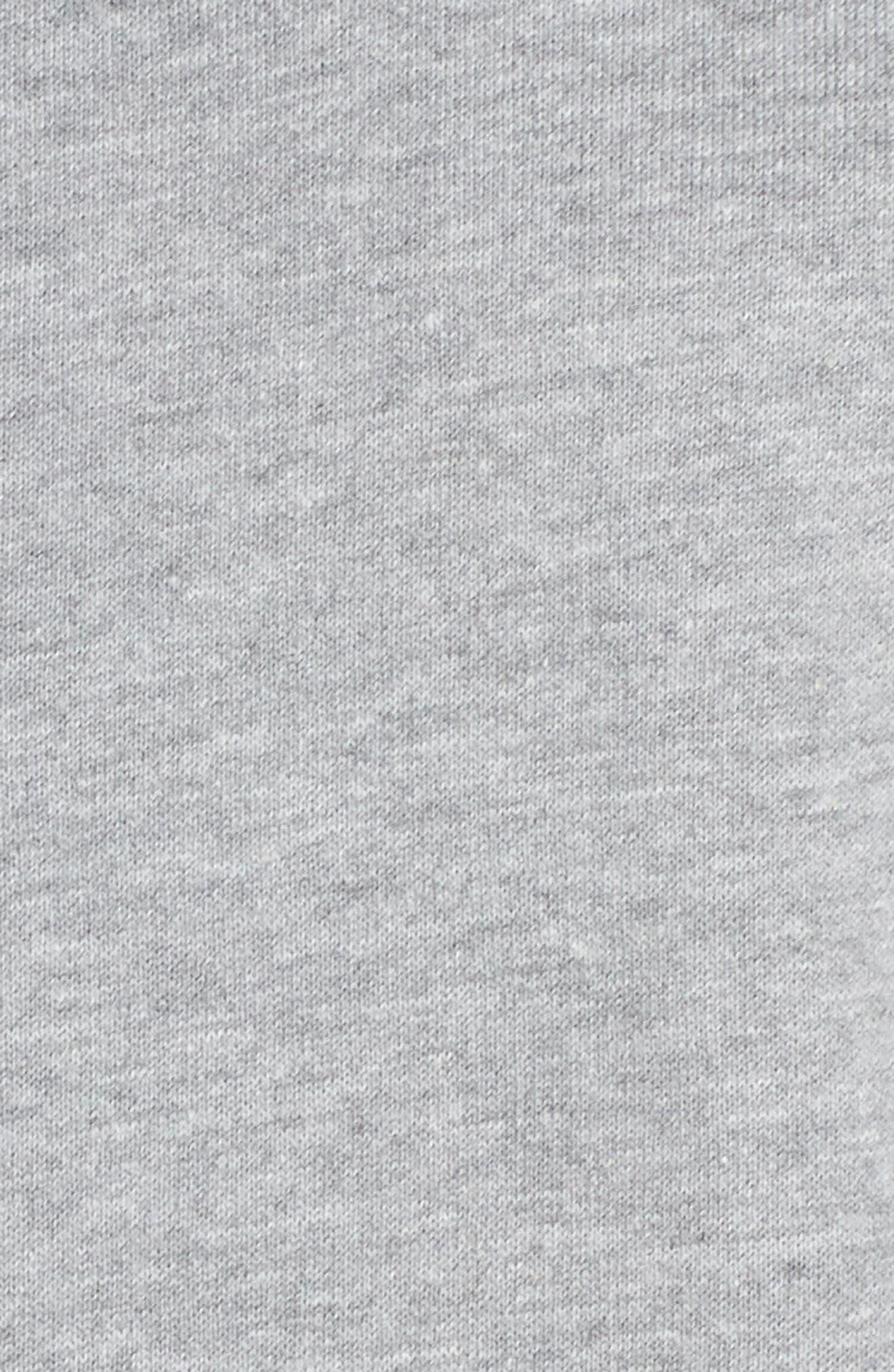 Crop Lounge Sweatshirt,                             Alternate thumbnail 5, color,                             025