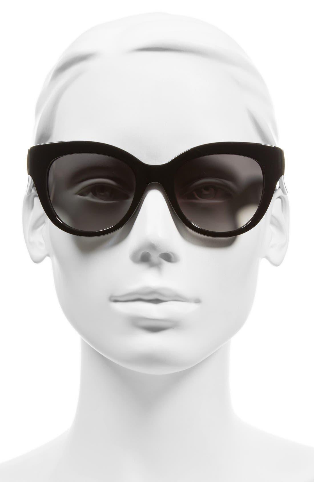 'sharlots' 52mm sunglasses,                             Alternate thumbnail 2, color,                             001