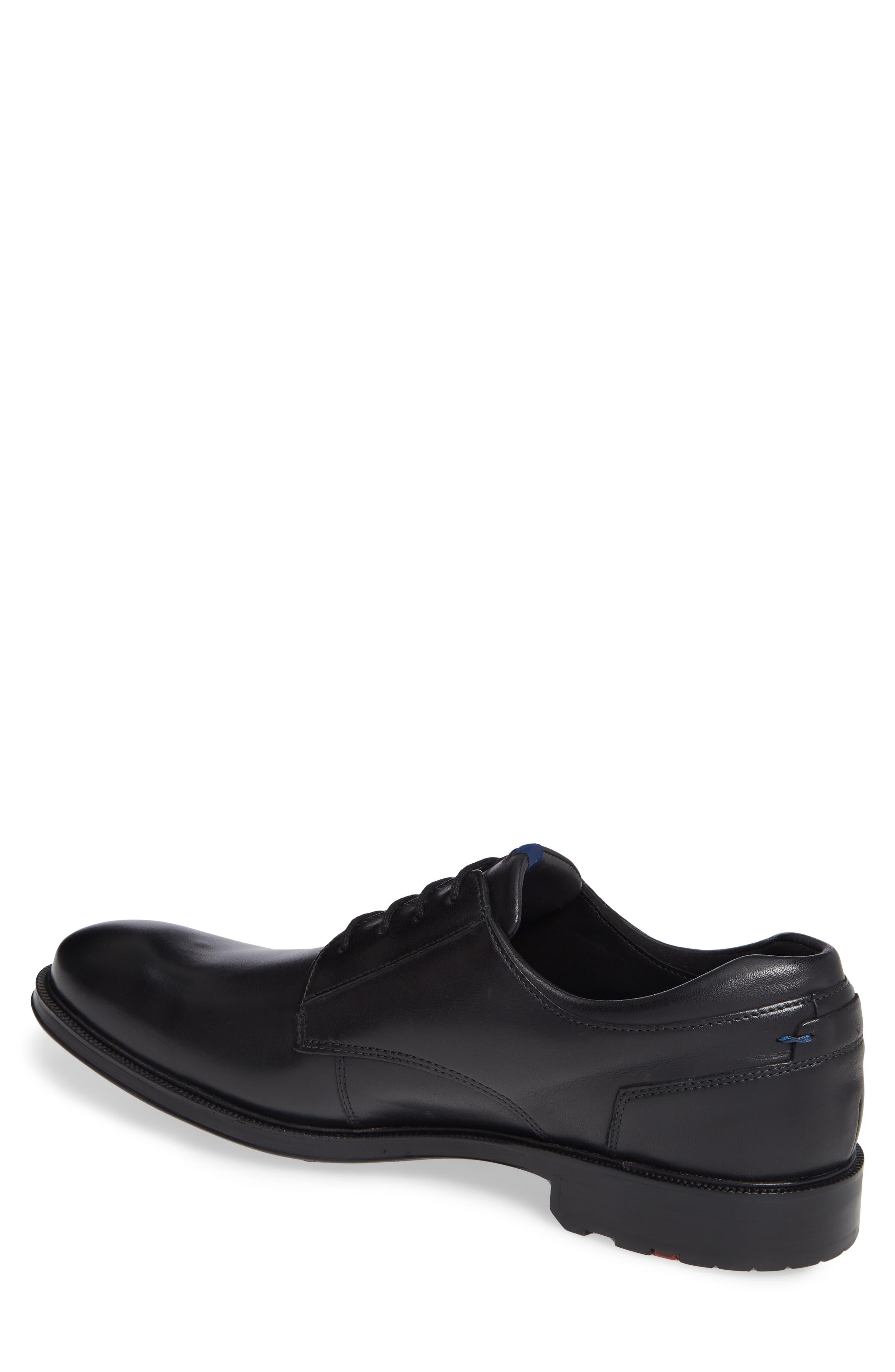 Veria Gore-Tex<sup>®</sup> Plain Toe Derby,                             Alternate thumbnail 2, color,                             BLACK LEATHER
