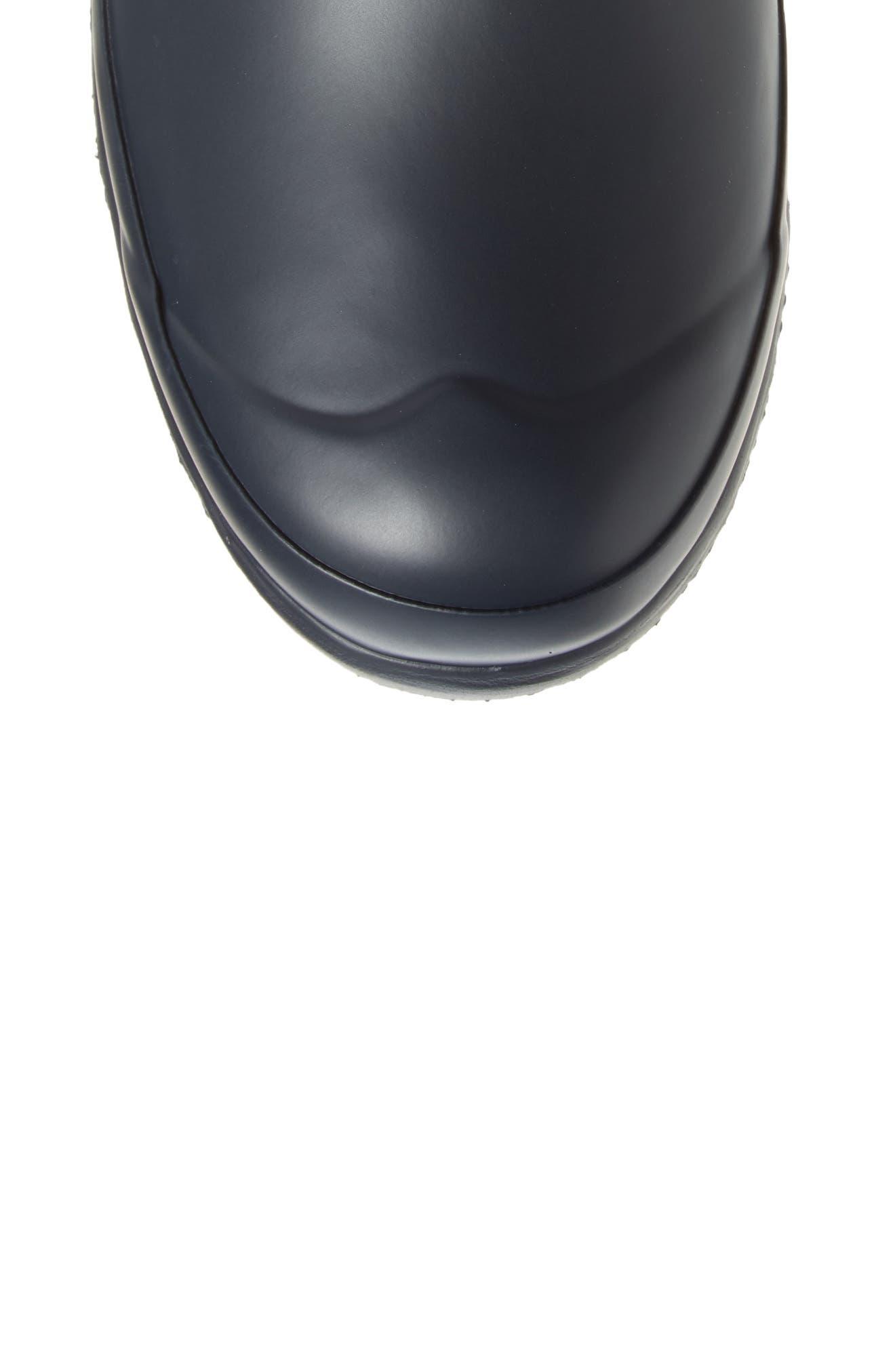 HUNTER,                             Original Tall Gingham Waterproof Rain Boot,                             Alternate thumbnail 5, color,                             410