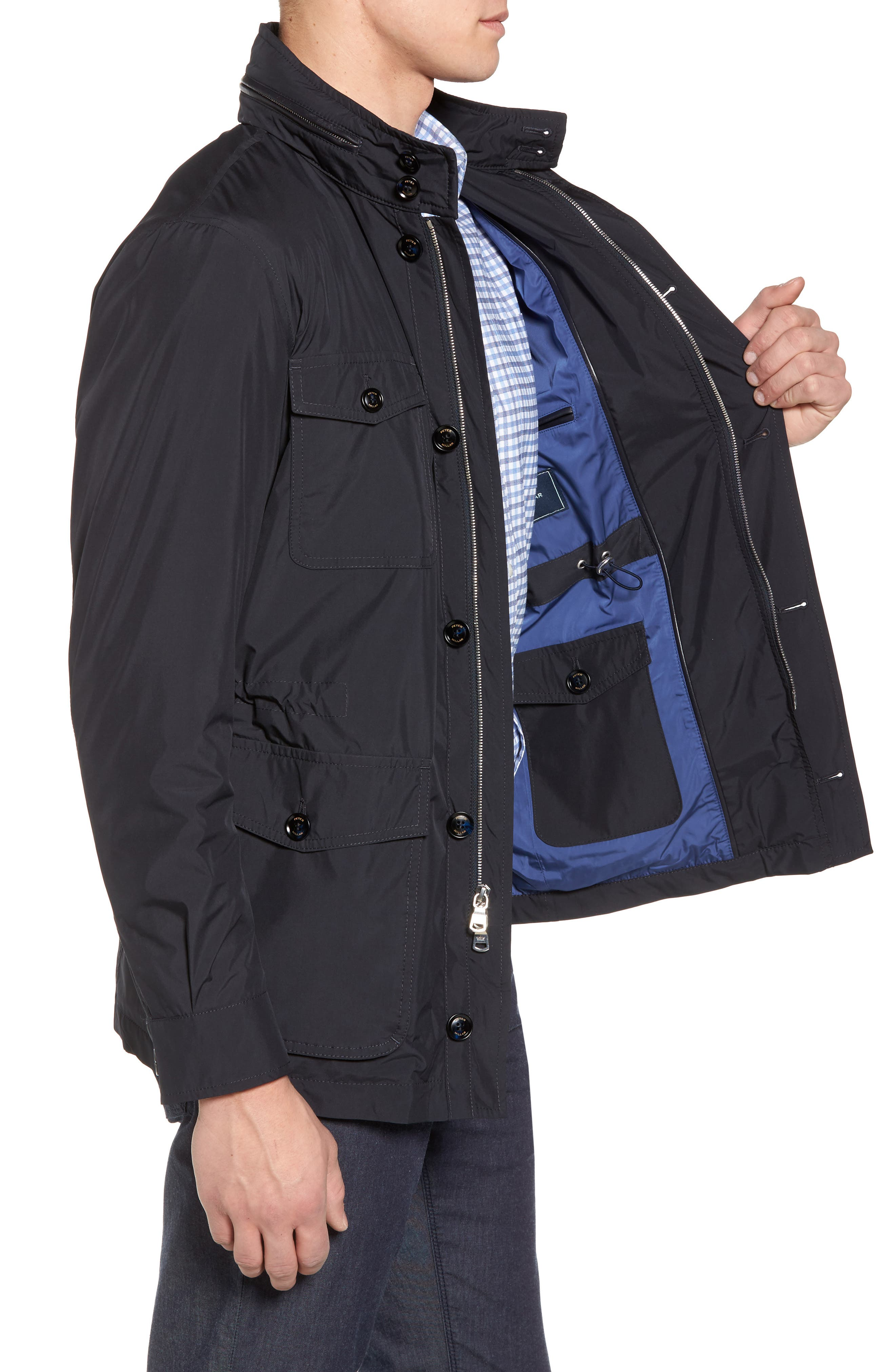 All Weather Discovery Jacket,                             Alternate thumbnail 3, color,                             BARCHETTA