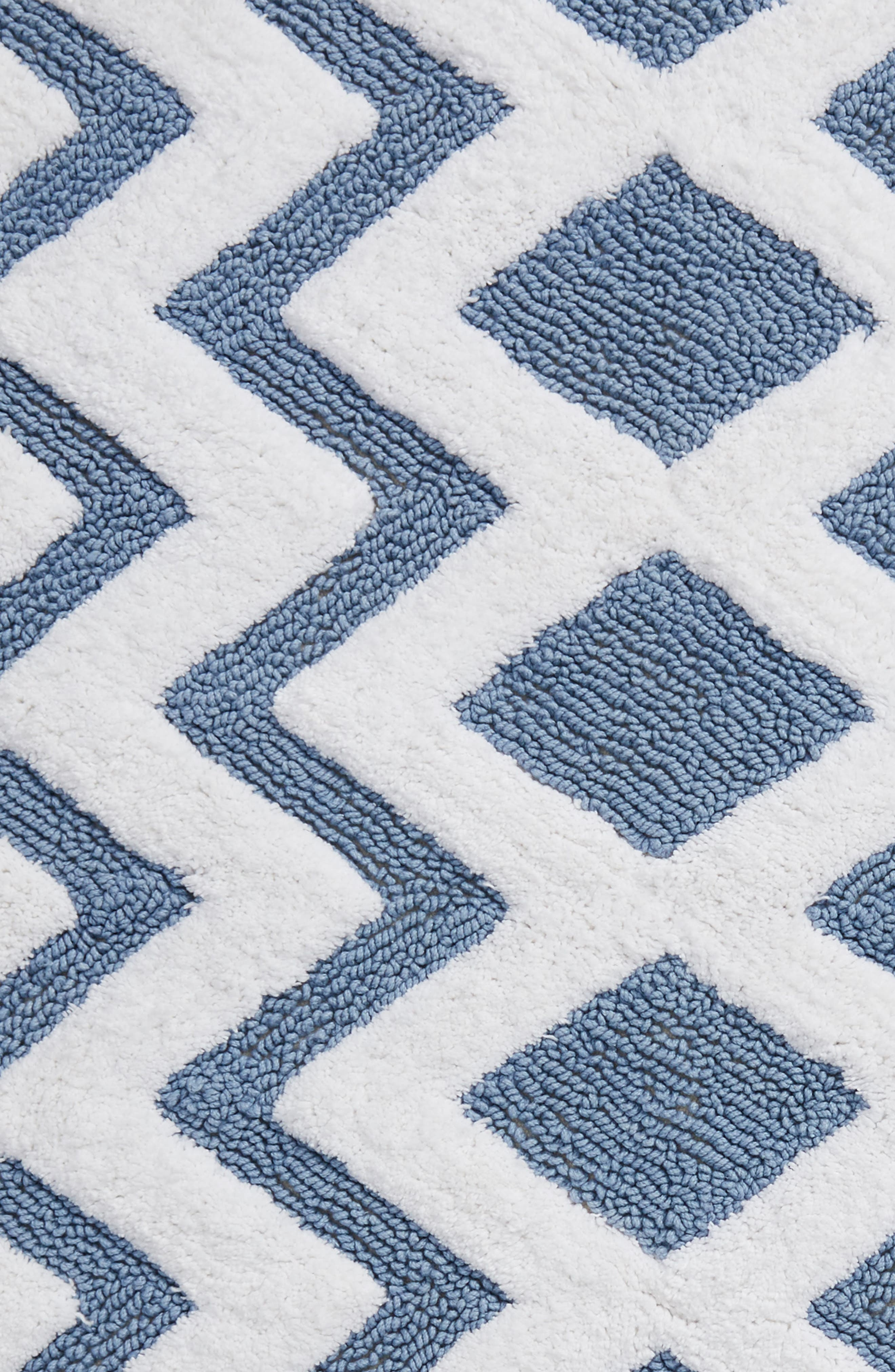 Geo Pattern Rug,                             Alternate thumbnail 2, color,                             BLUE CHAMBRAY
