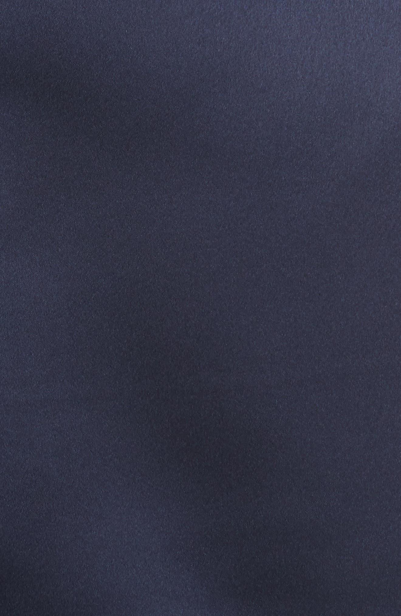Satin Utility Miniskirt,                             Alternate thumbnail 5, color,