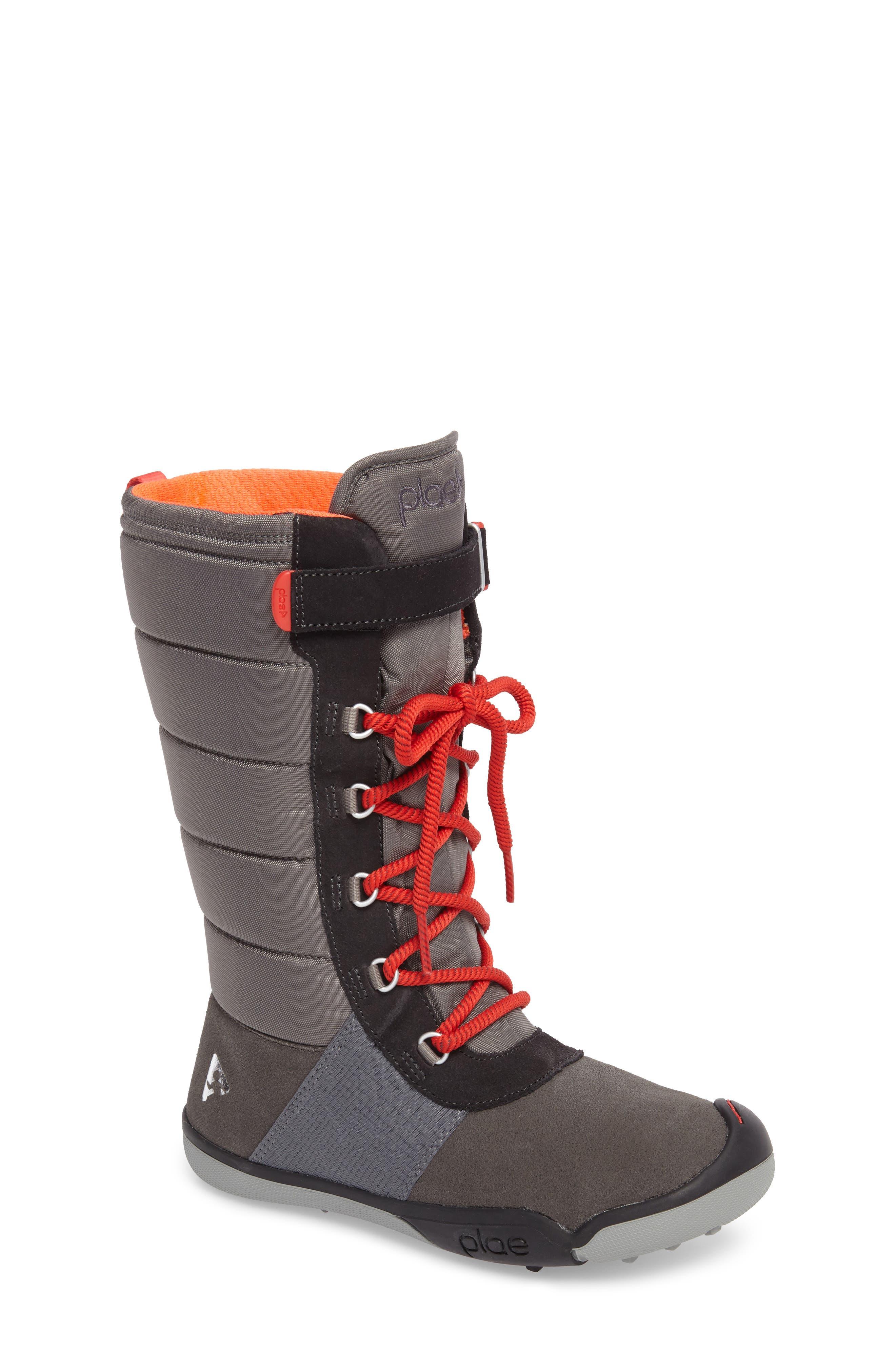 Jack Customizable Waterproof Boot,                             Main thumbnail 1, color,                             DARK