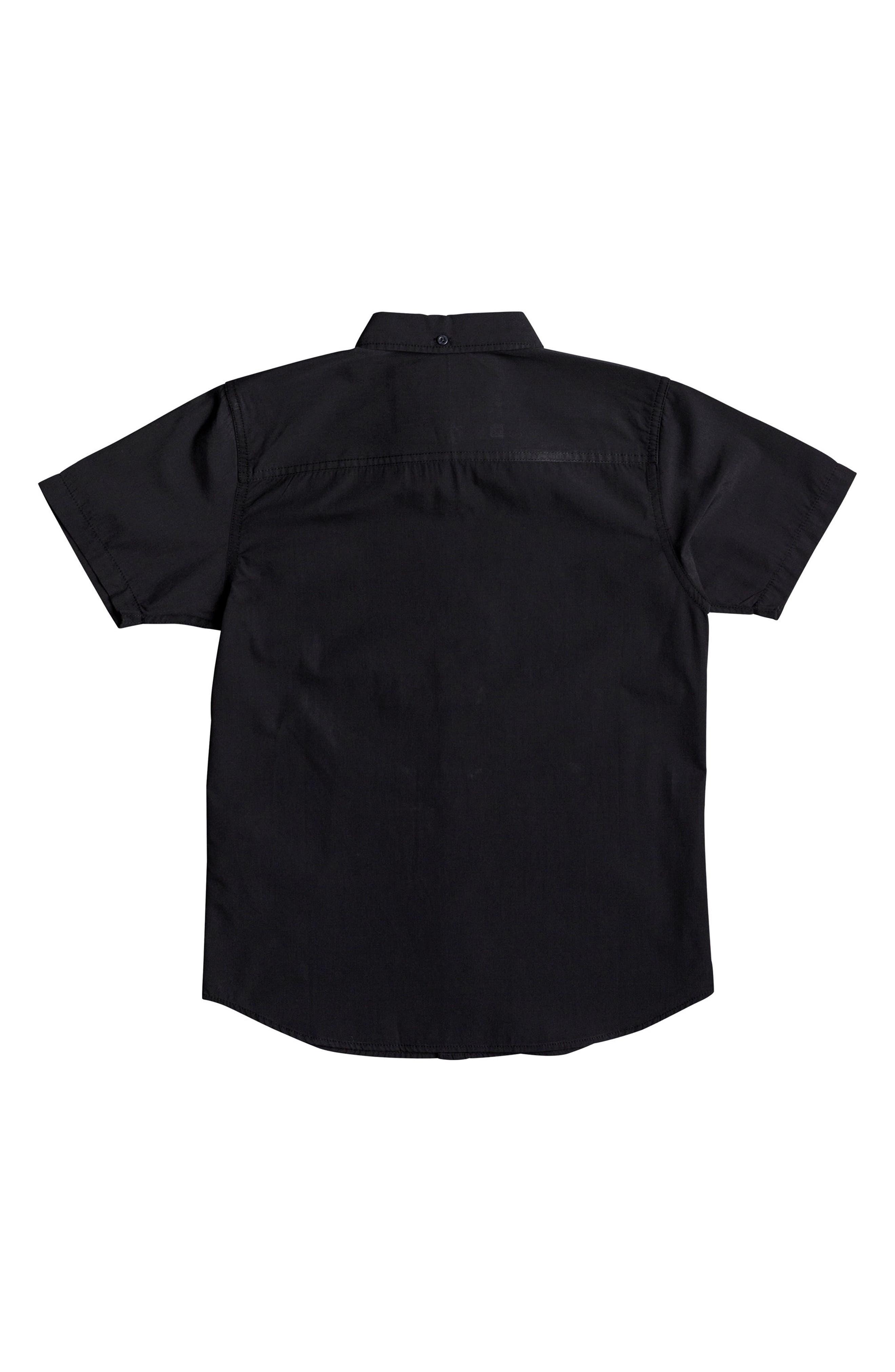 Short Sleeve Button Down Shirt,                             Alternate thumbnail 2, color,                             005