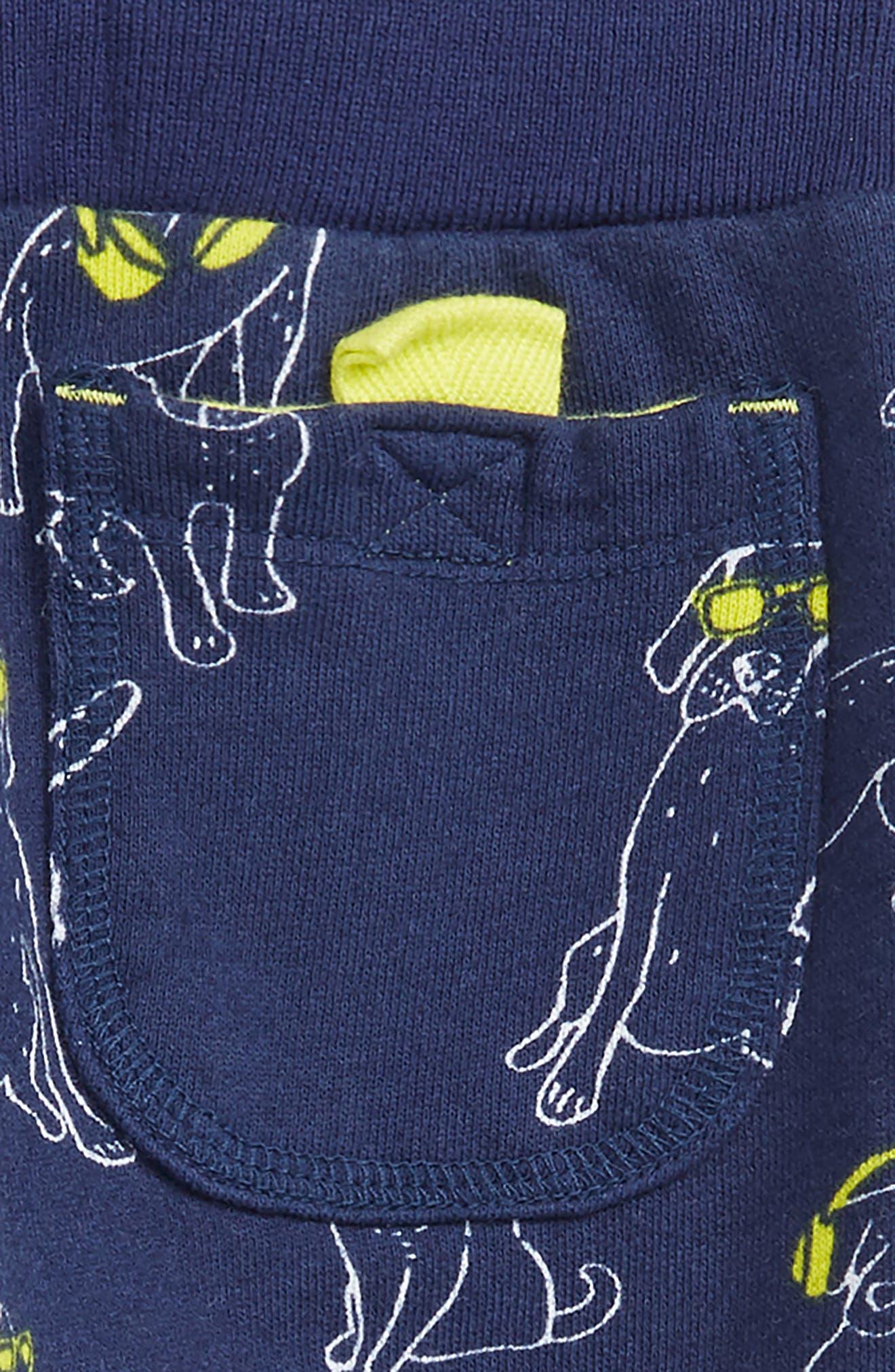 DJ Dogs Jogger Pants,                             Alternate thumbnail 3, color,                             COLLEGE BLUE