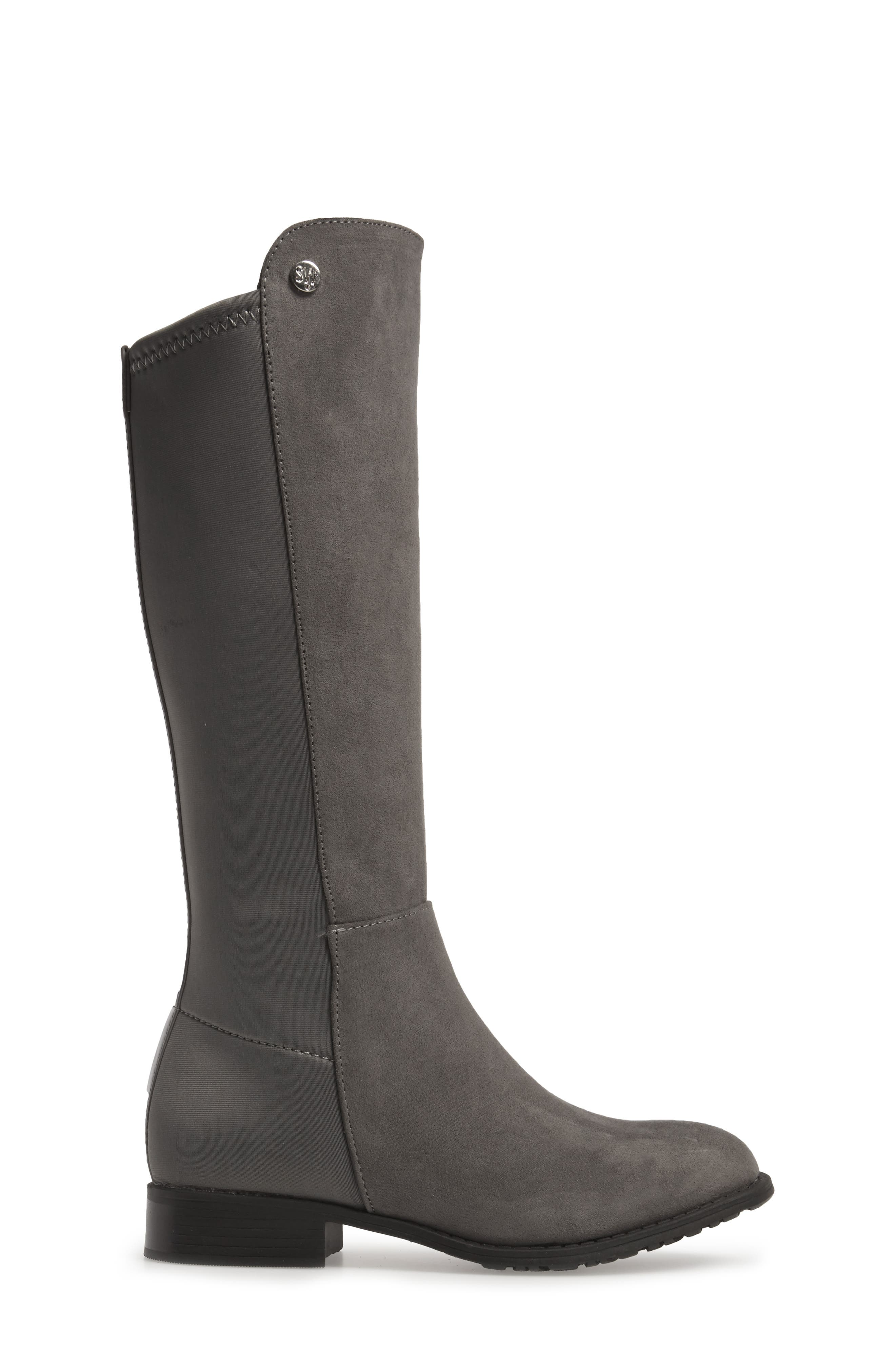 5050 Tall Riding Boot,                             Alternate thumbnail 3, color,                             050