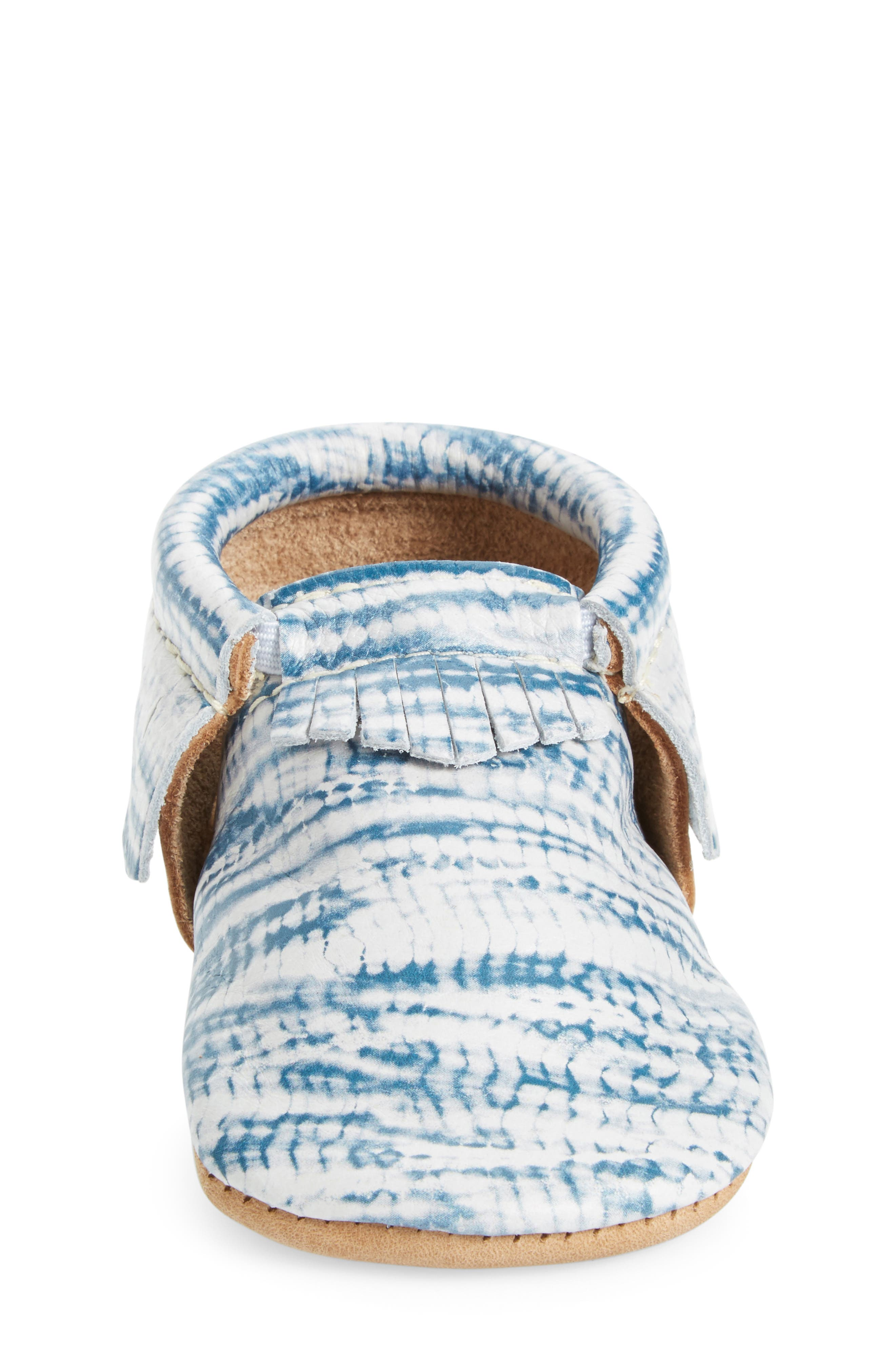Tie Dye Moccasin,                             Alternate thumbnail 4, color,                             402
