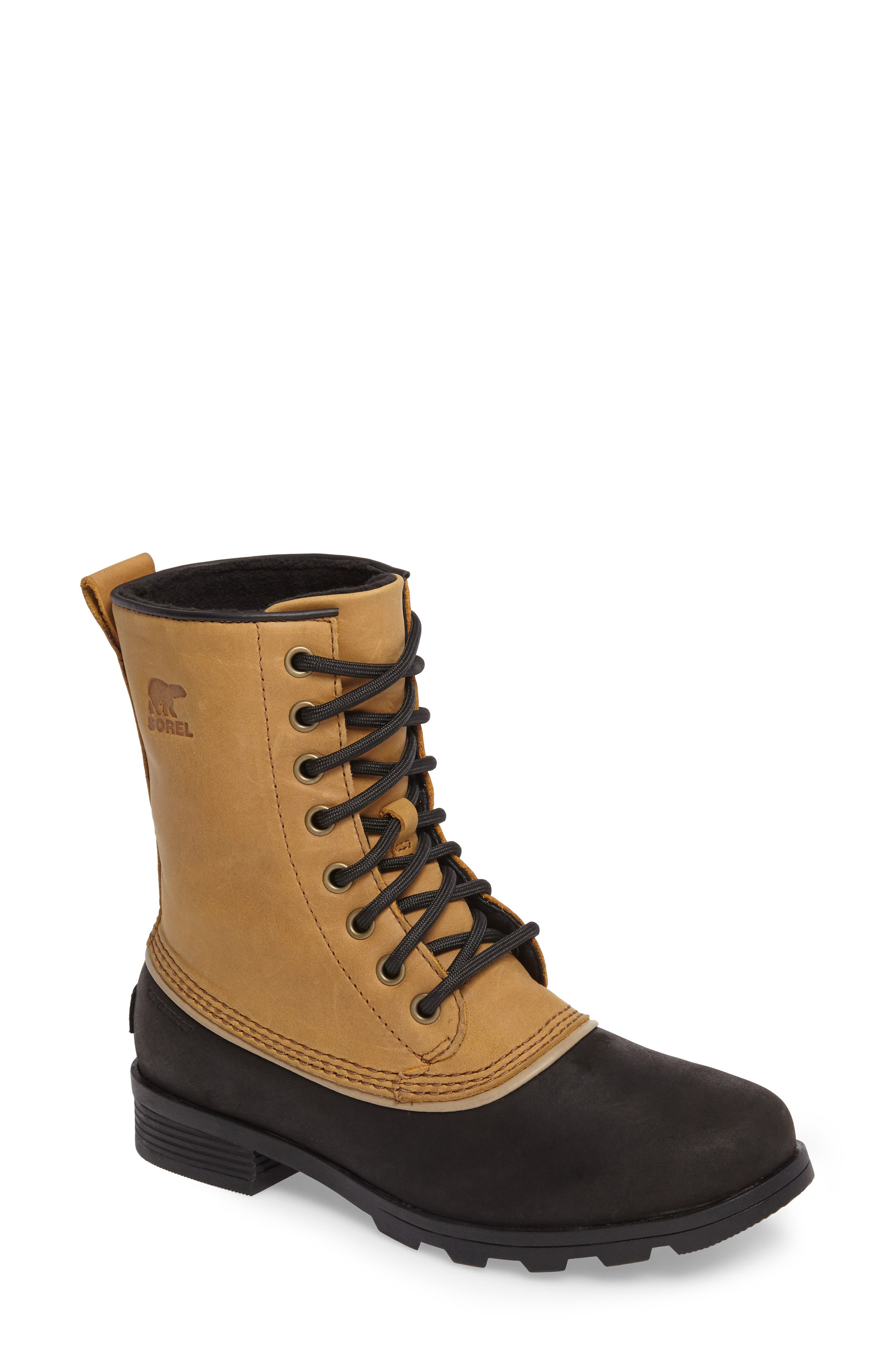 Sorel Emelie 1964 Waterproof Bootie, Brown