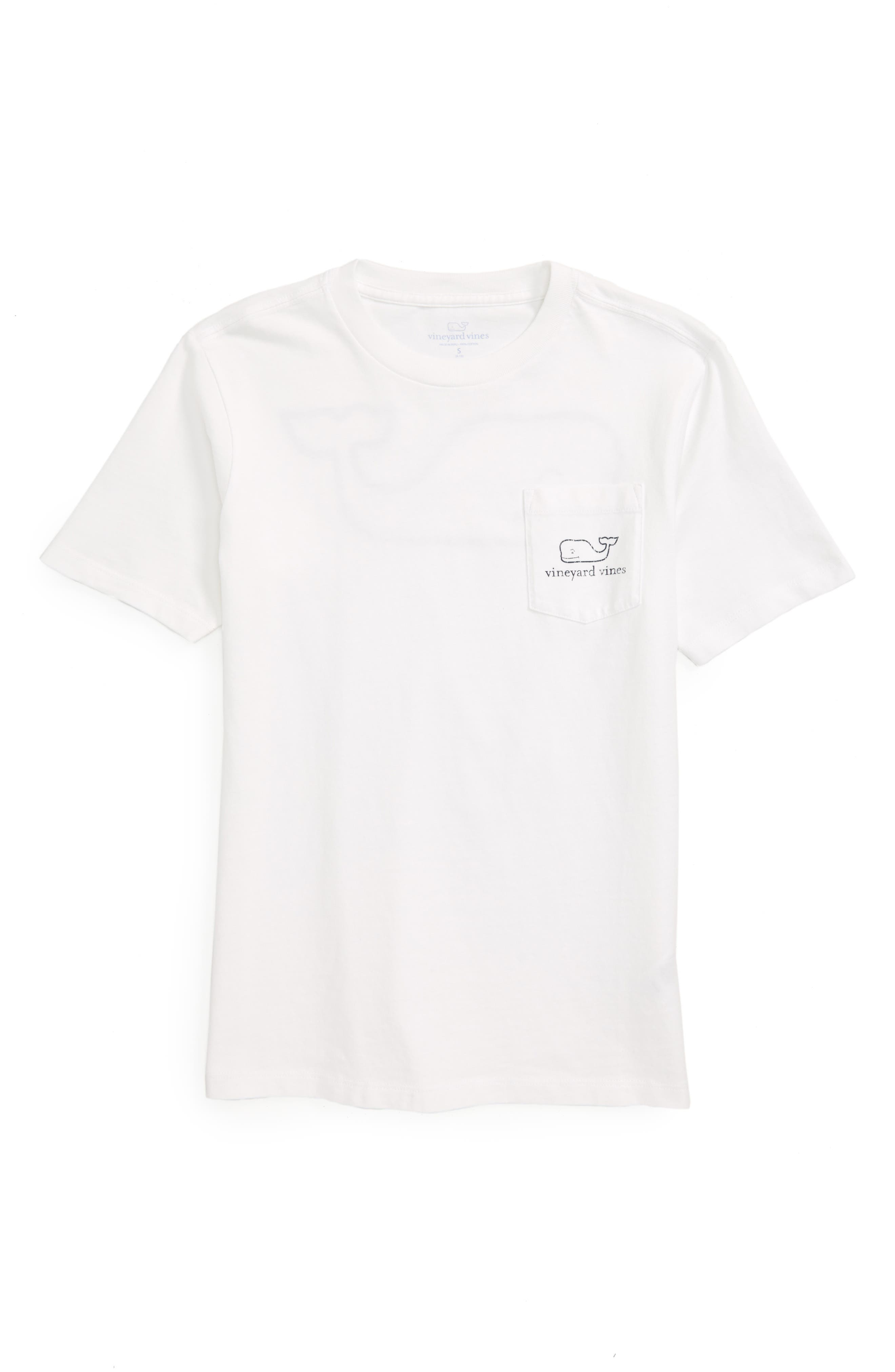 Whale T-Shirt,                         Main,                         color, WHITE CAP