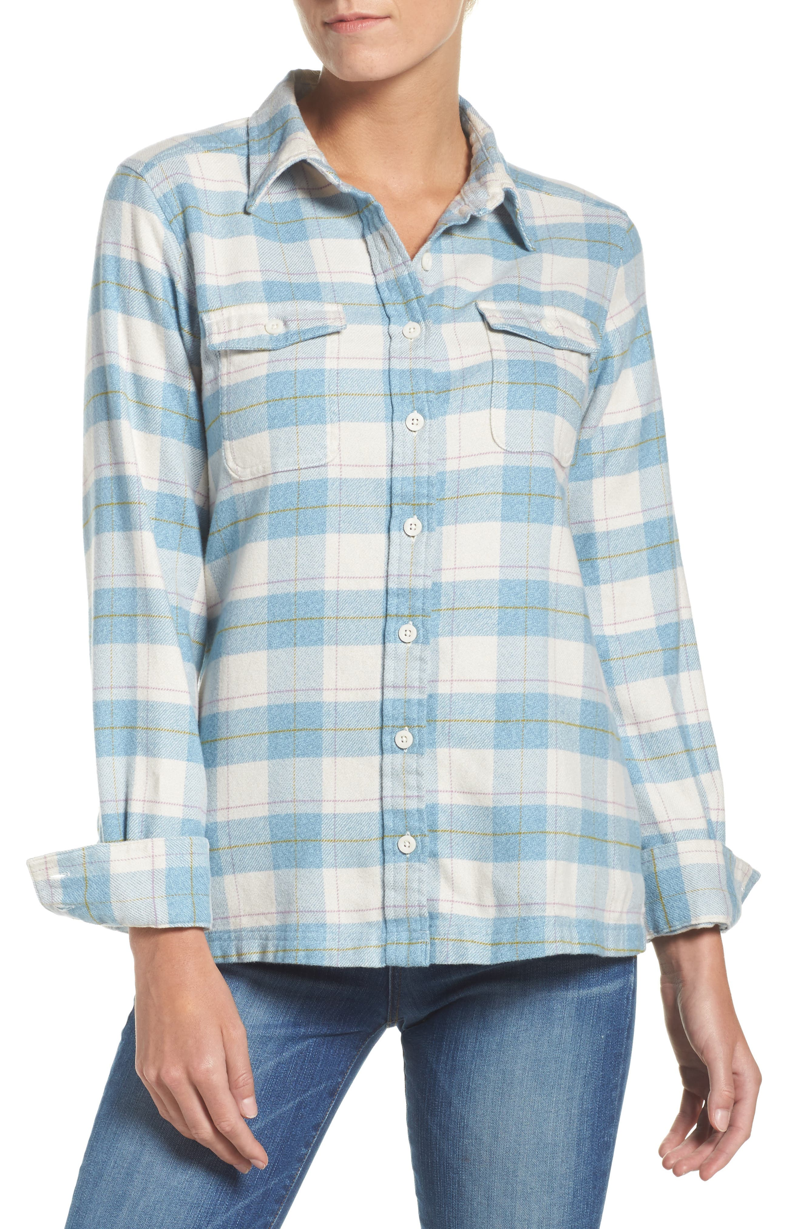 'Fjord' Flannel Shirt,                             Main thumbnail 3, color,