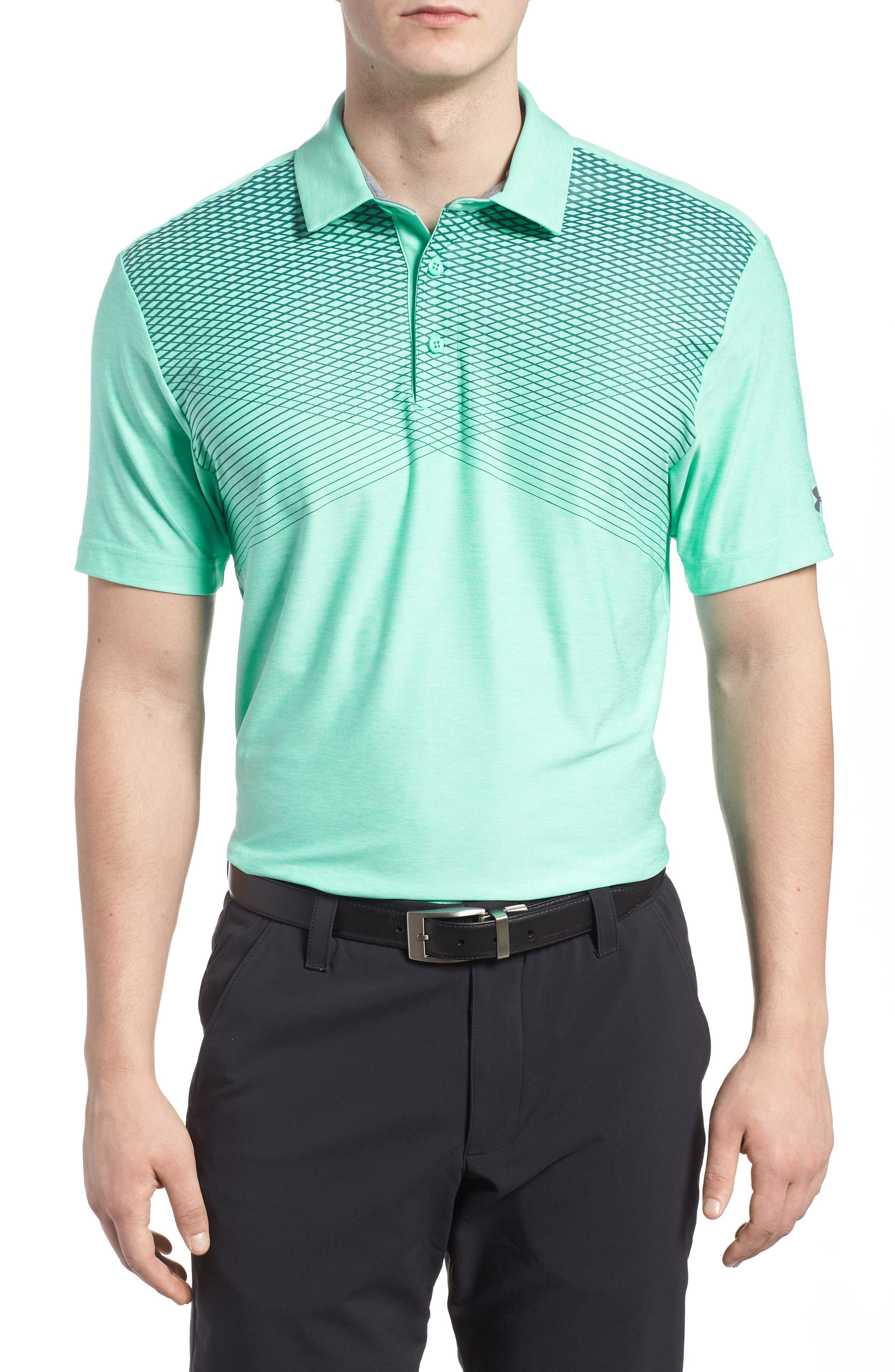 'Playoff' Loose Fit Short Sleeve Polo,                             Main thumbnail 7, color,