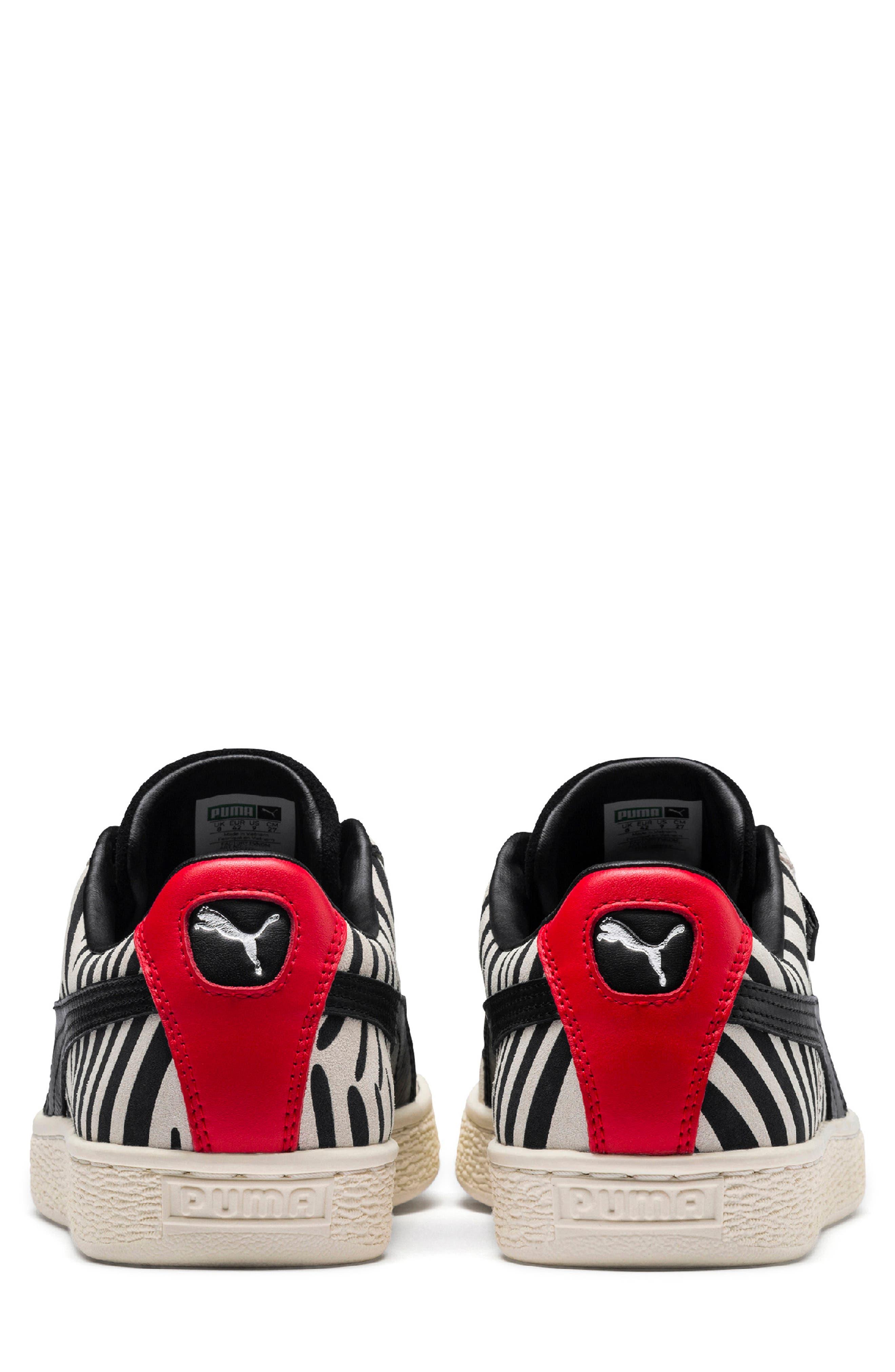 x Paul Stanley Suede Classic Sneaker,                             Alternate thumbnail 5, color,                             100