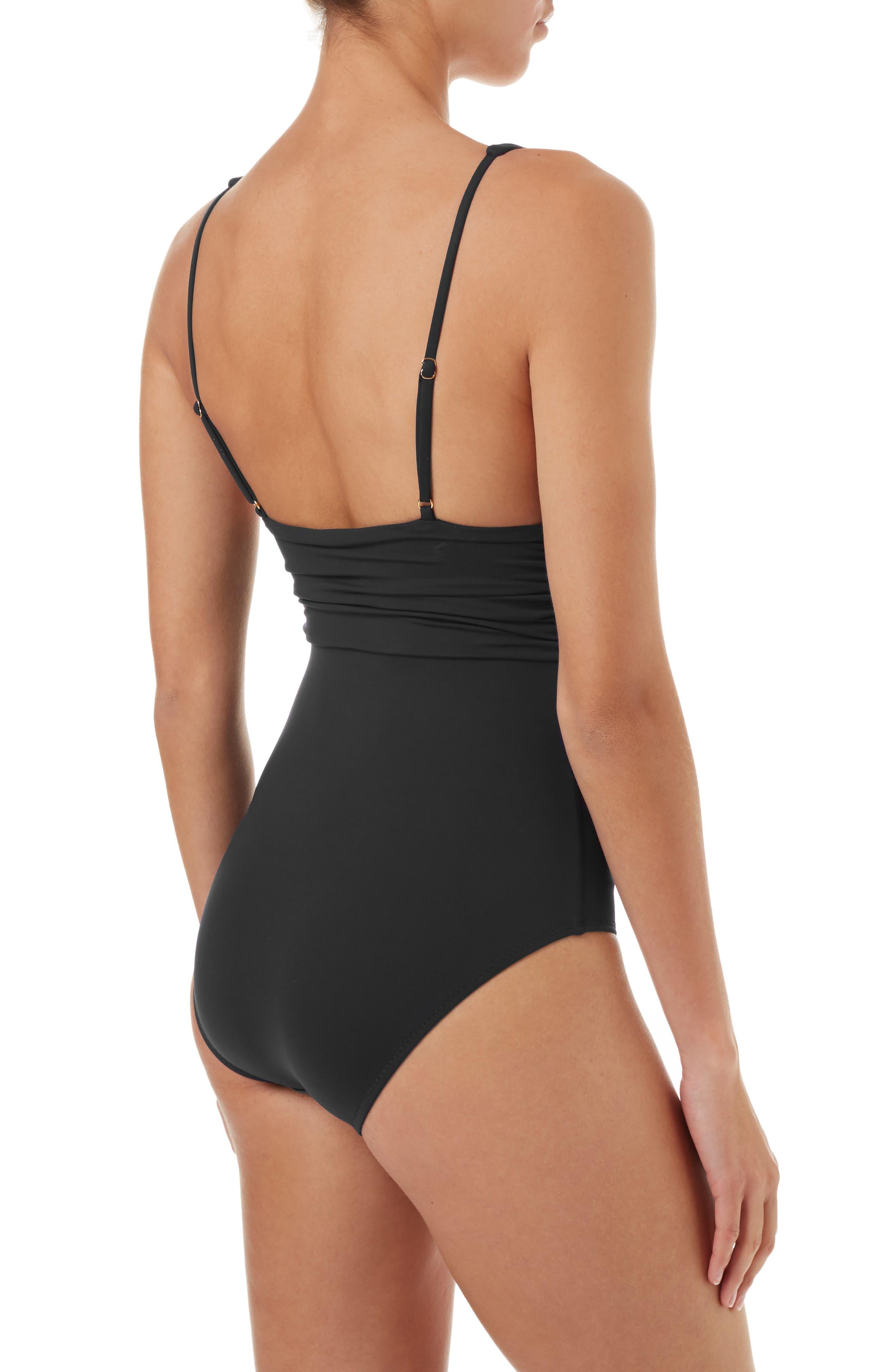 Panarea One-Piece Swimsuit,                             Alternate thumbnail 2, color,                             BLACK