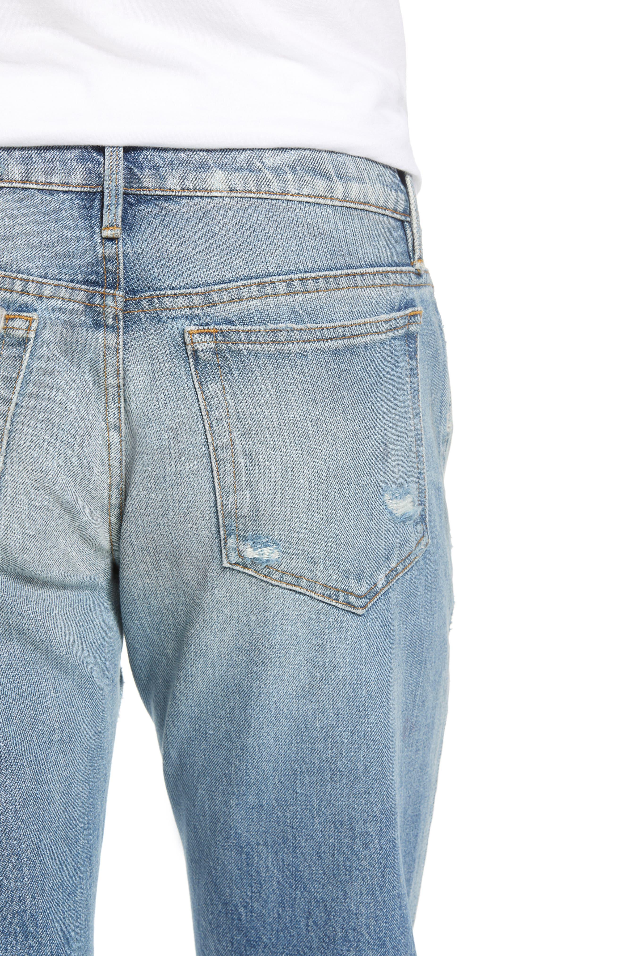 L'Homme Slim Fit Jeans,                             Alternate thumbnail 4, color,                             421