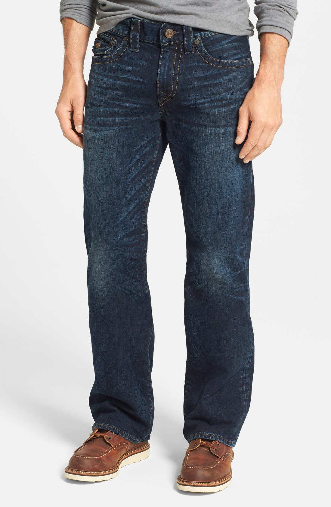 'Billy - Flap Core' Bootcut Jeans,                             Alternate thumbnail 2, color,                             400