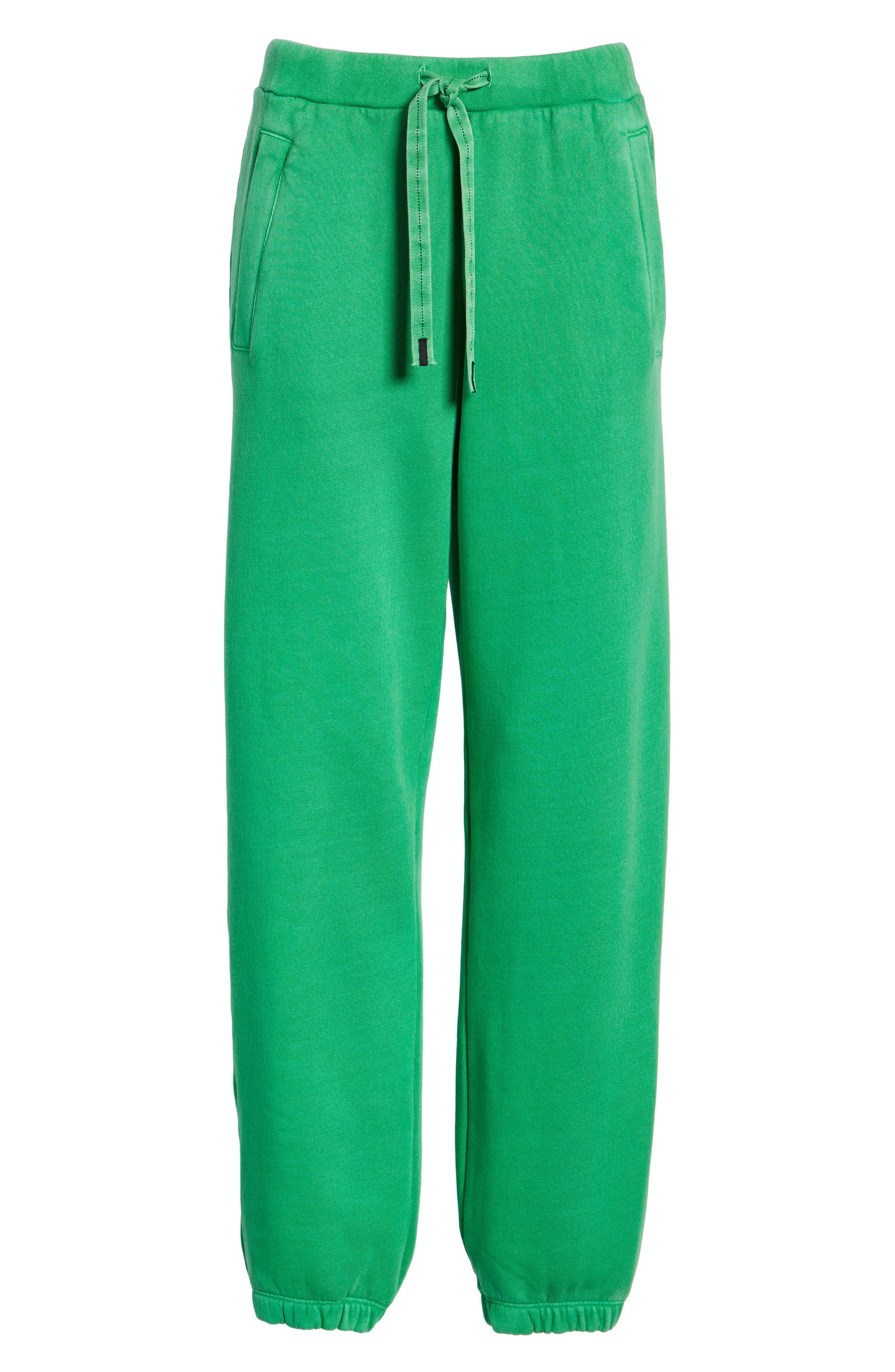 Neon Sweatpants,                             Alternate thumbnail 6, color,                             GREEN
