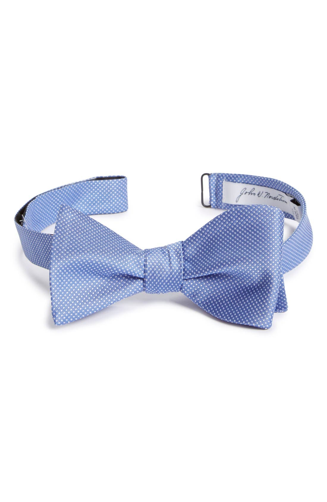 Dot Silk Bow Tie,                             Main thumbnail 6, color,