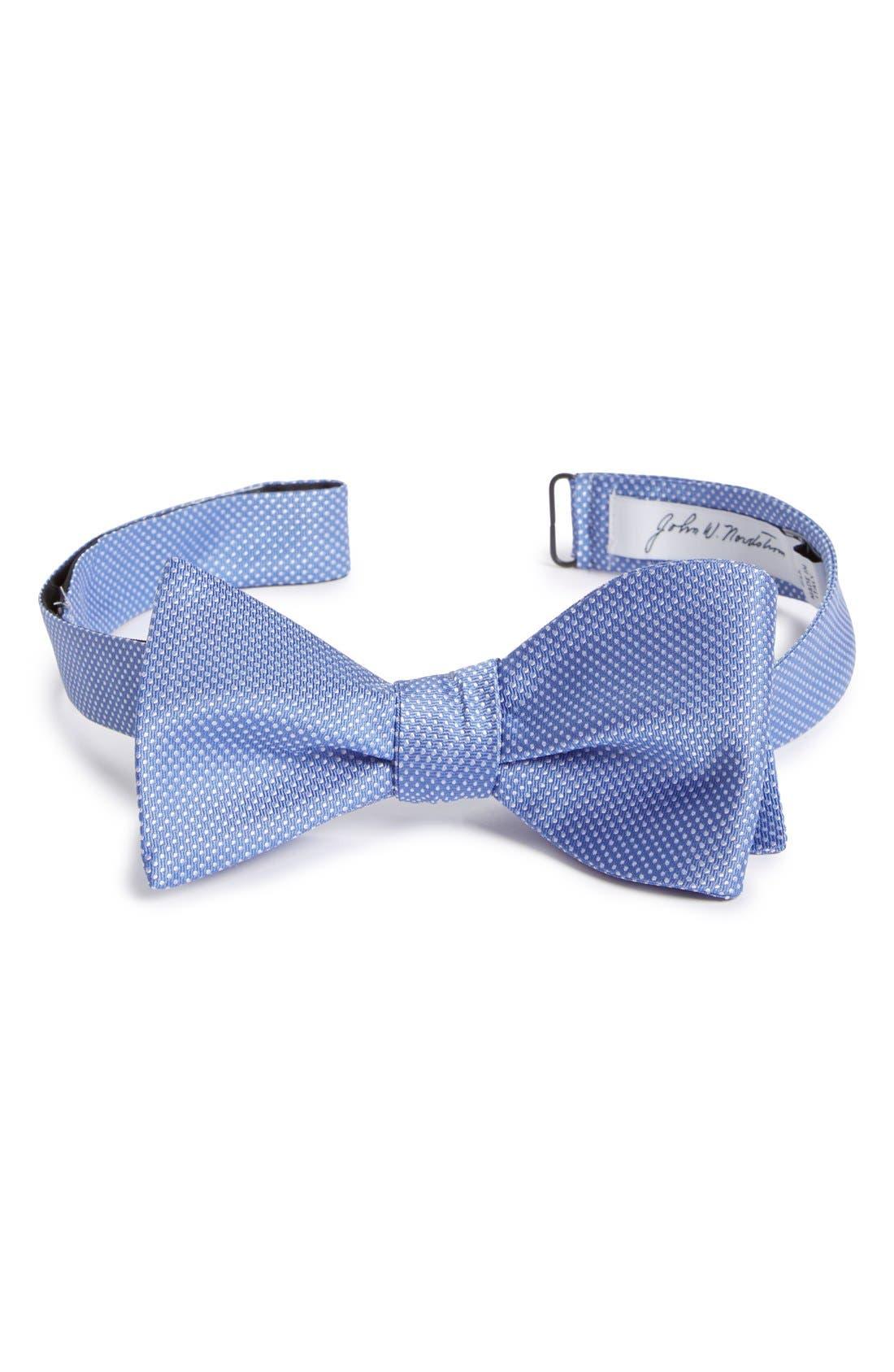 Dot Silk Bow Tie,                             Main thumbnail 6, color,