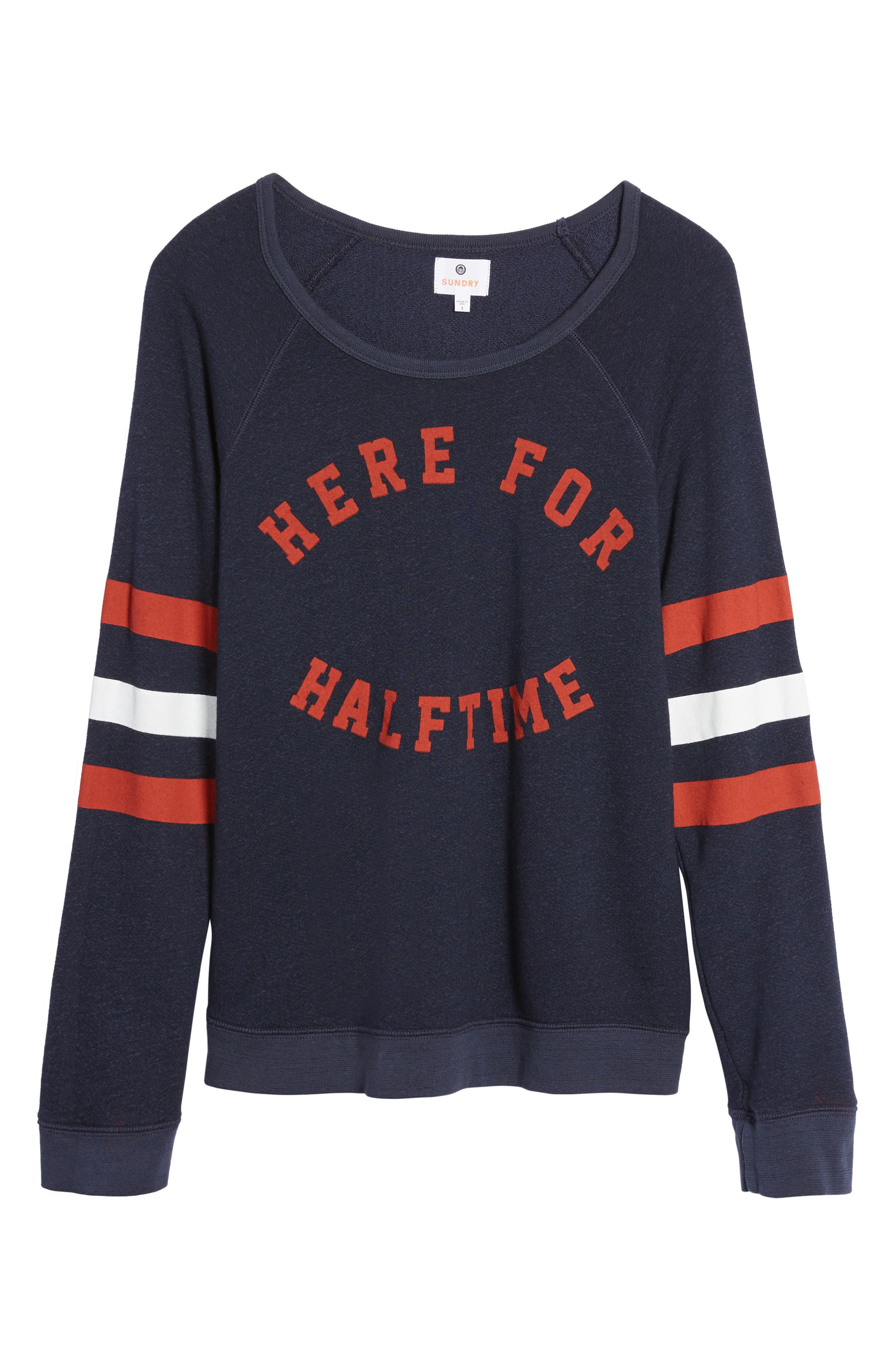 Here for Halftime Pullover,                             Alternate thumbnail 6, color,                             410
