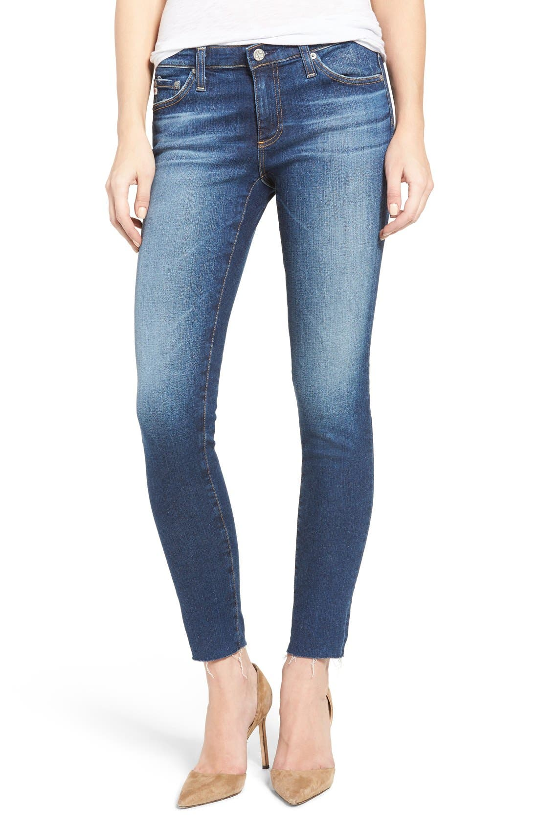 'The Legging' Ankle Jeans,                         Main,                         color, 18 YEAR