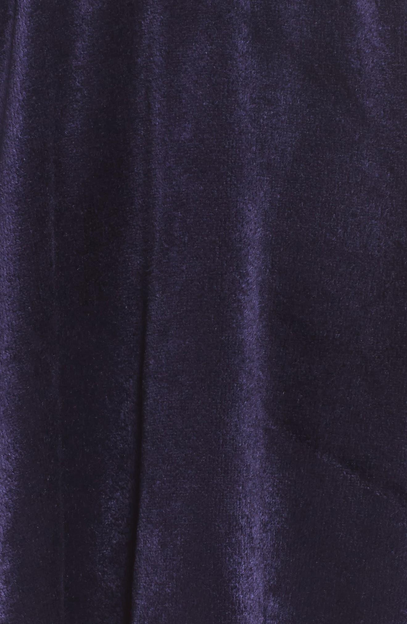 Paris Velour Lounge Shorts,                             Alternate thumbnail 15, color,