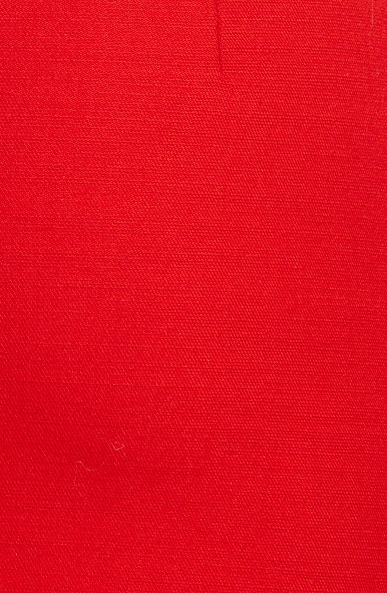 Double Face Wool & Silk Dress,                             Alternate thumbnail 5, color,                             600