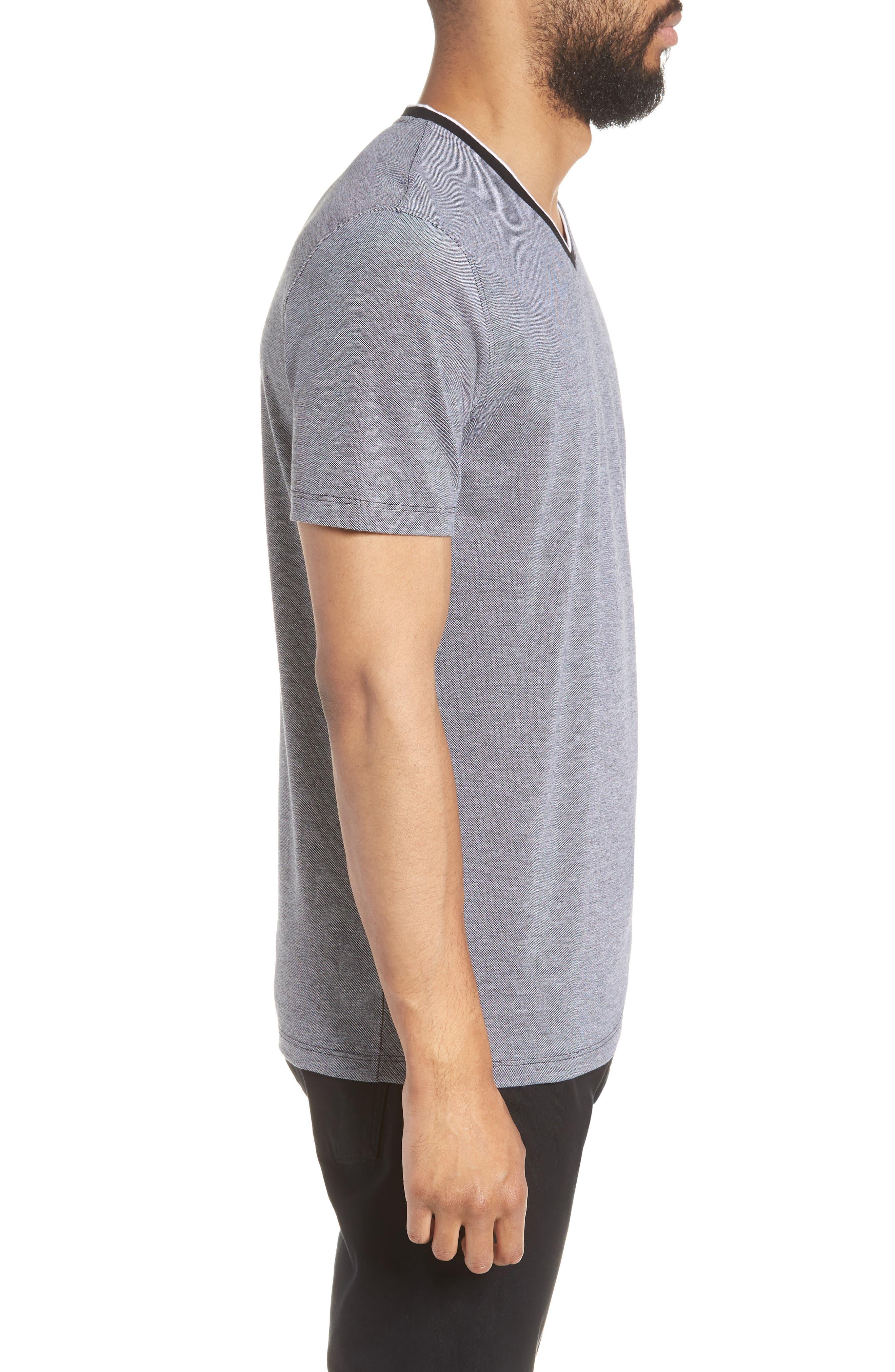TIlson Regular Fit T-Shirt,                             Alternate thumbnail 3, color,                             BLACK