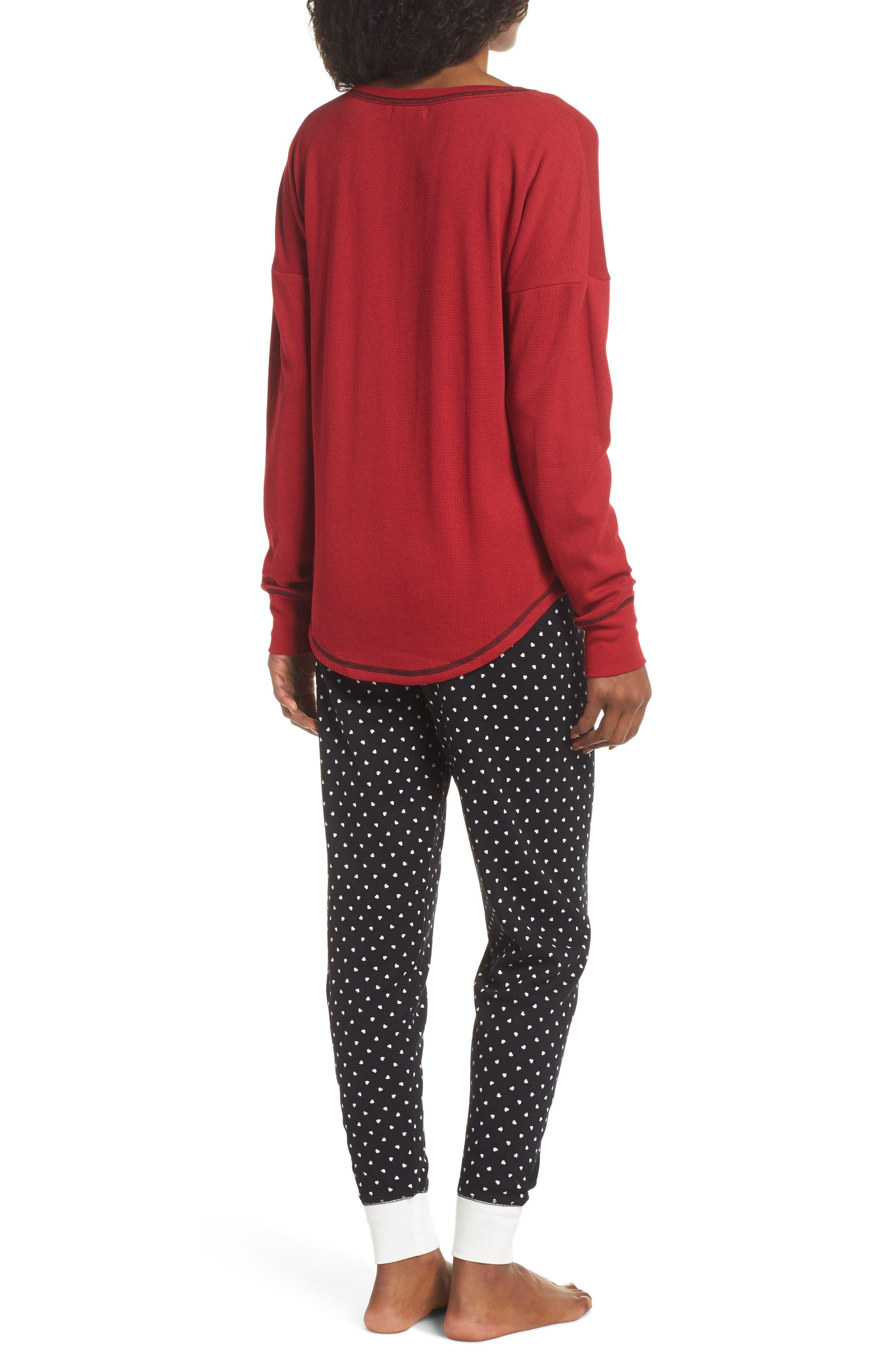 Thermal Pajamas,                             Alternate thumbnail 2, color,                             001